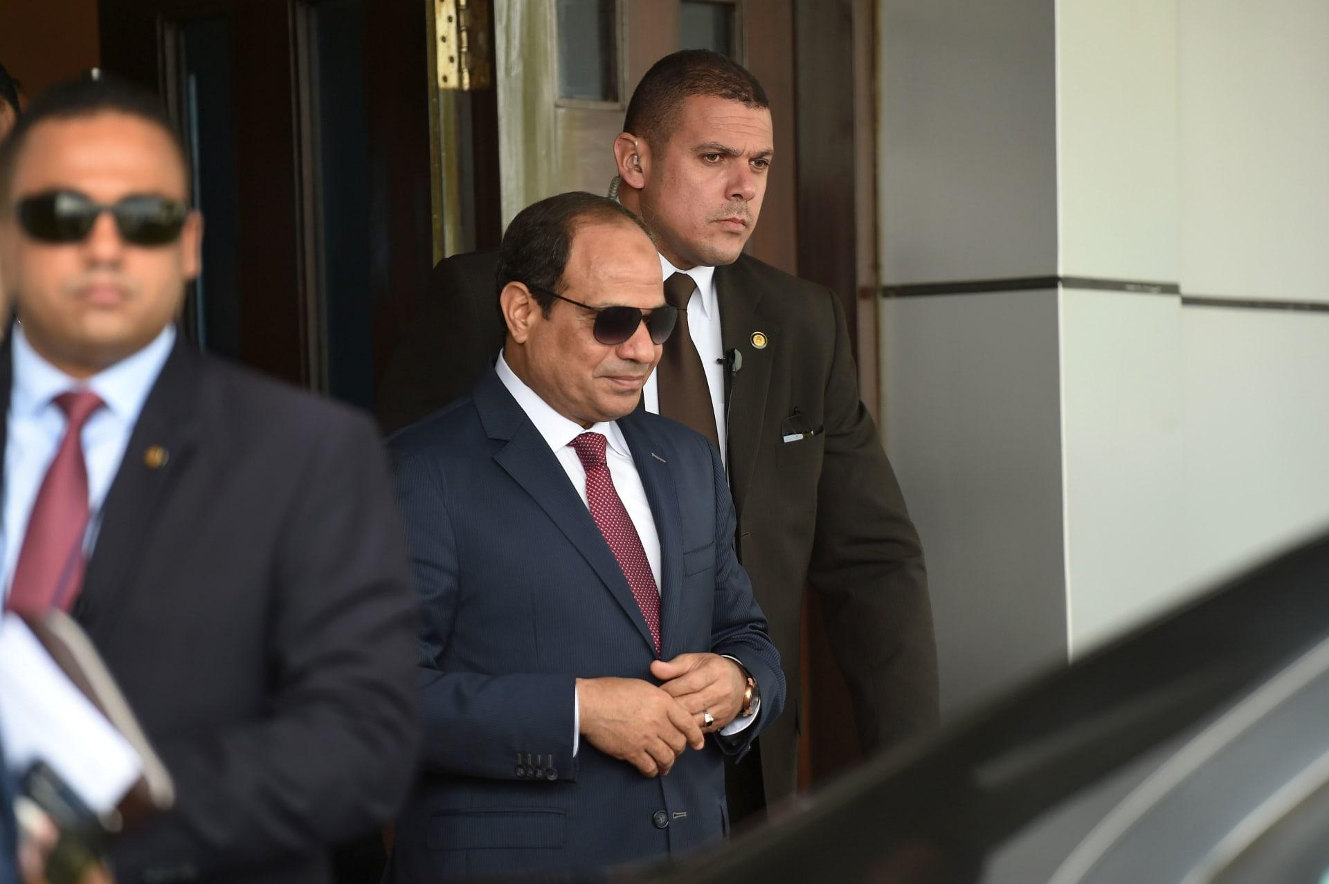 رسائل متبادلة بين السيسي وأمير قطر في استقبال الرئيس المصري لوزير خارجية الدوحة