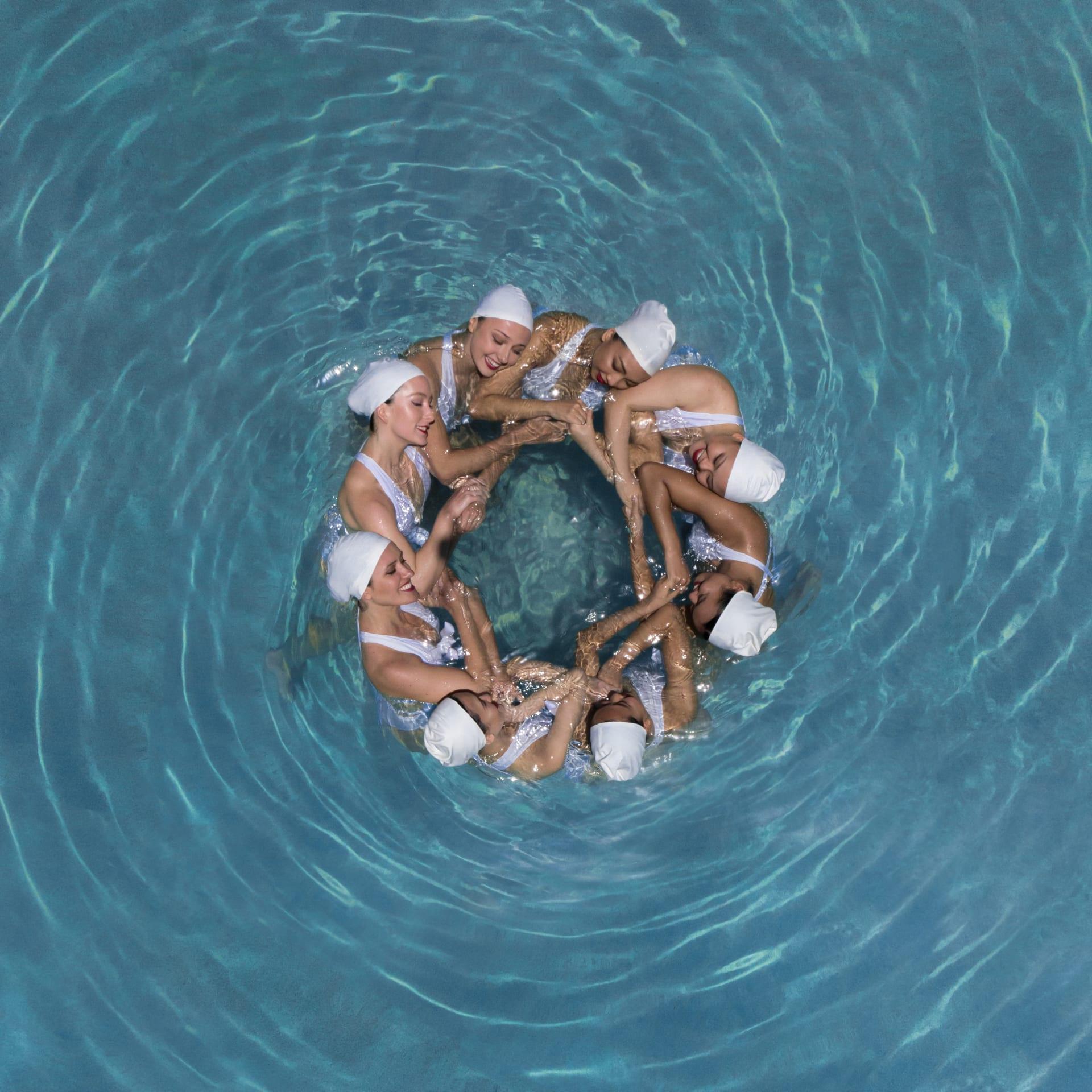 جمال السباحة المتزامنة
