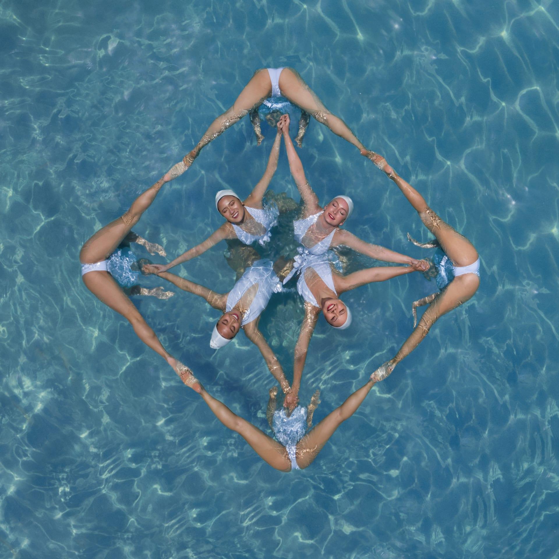 السباحة المتزامنة