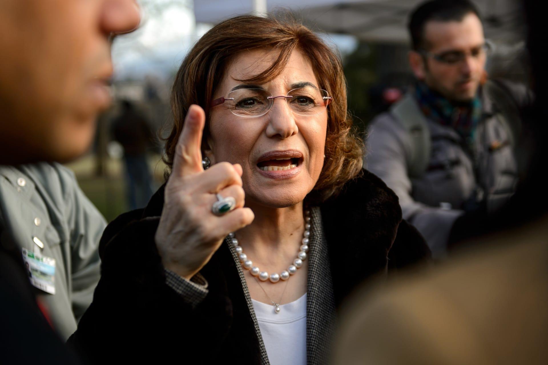المستشارة الخاصة في الرئاسة السورية بثينة شعبان