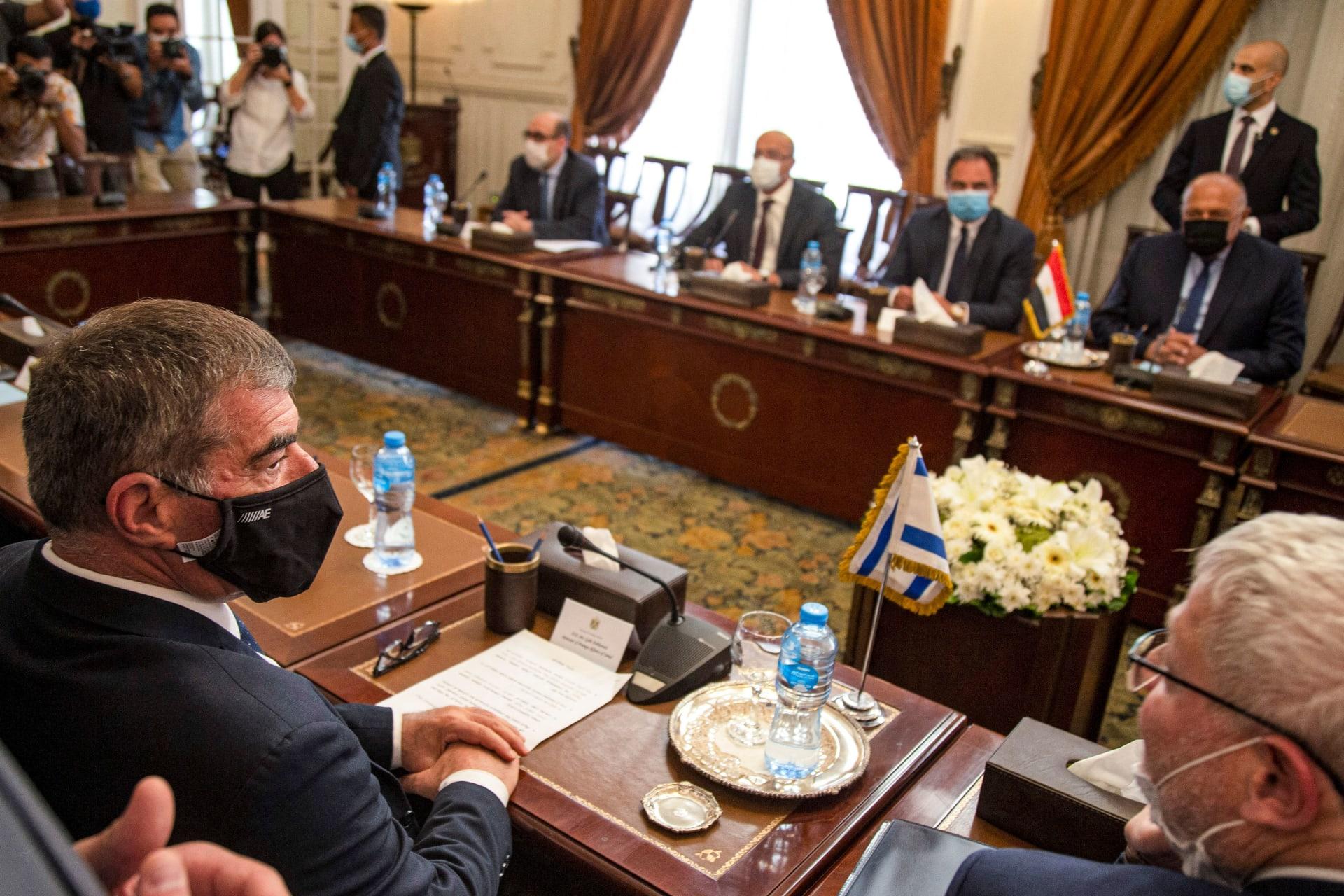 أول زيارة من وزير خارجية إسرائيلي لمصر منذ 2008