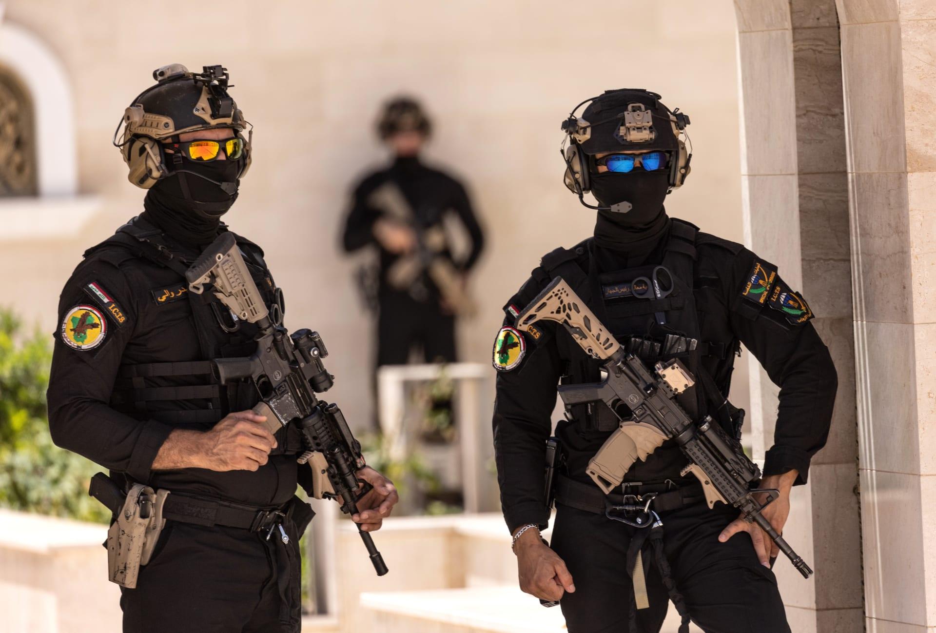 صورة أرشيفية لعناصر بقوات الأمن العراقية