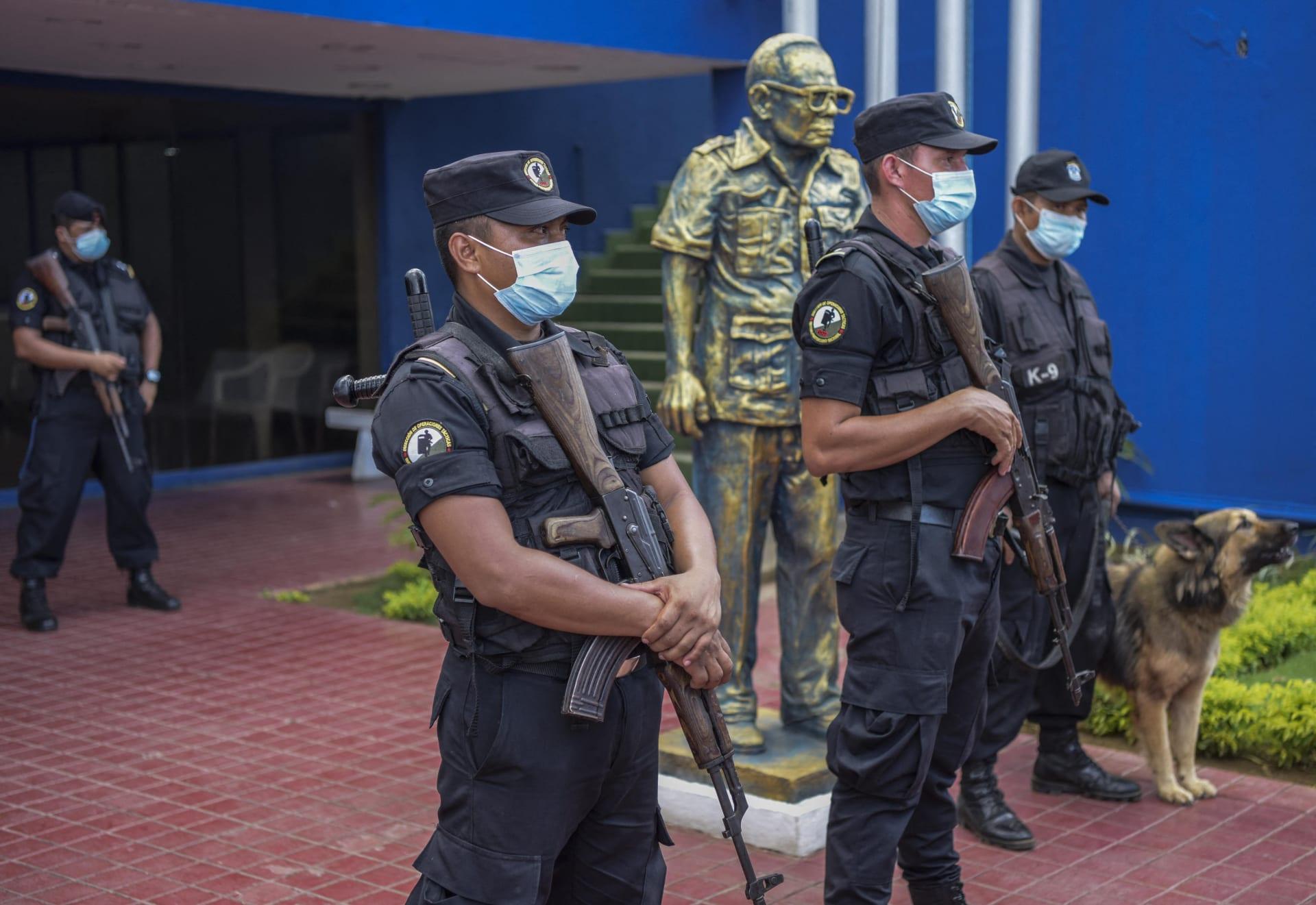 شرطة في نيكاراغوا