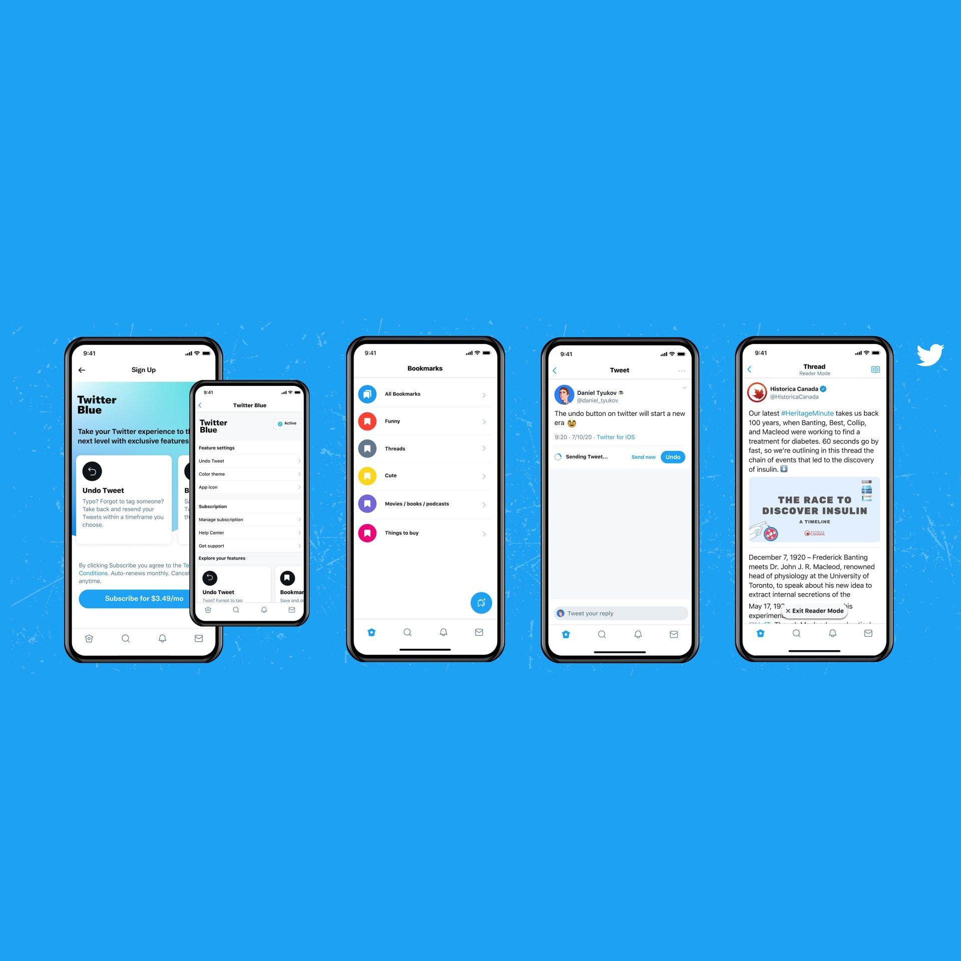 مقابل اشتراك مدفوع.. تويتر يطلق ميزة تمكّن المستخدمين من مراجعة تغريداتهم
