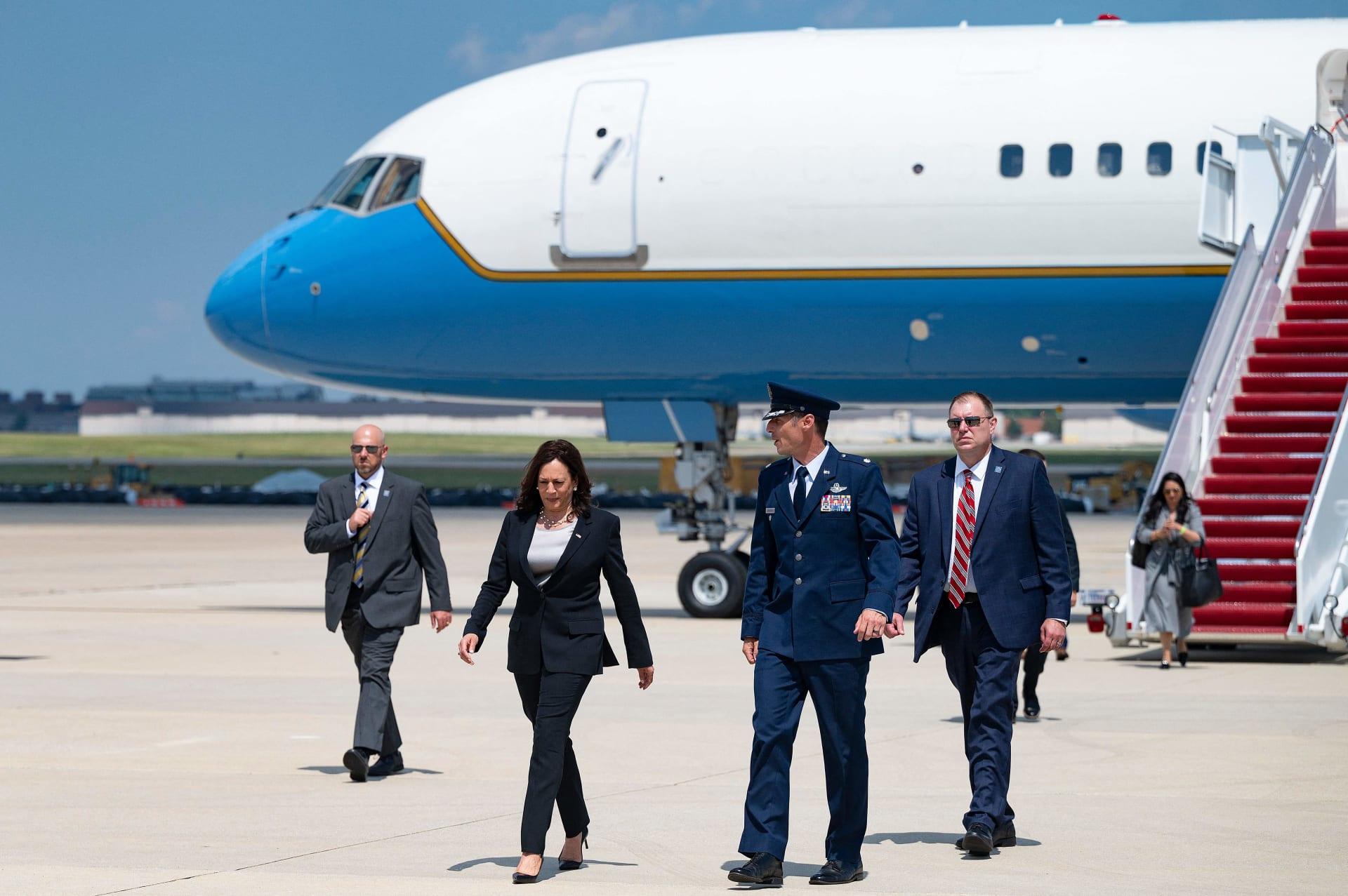 نائب الرئيس الأمريكي كامالا هاريس
