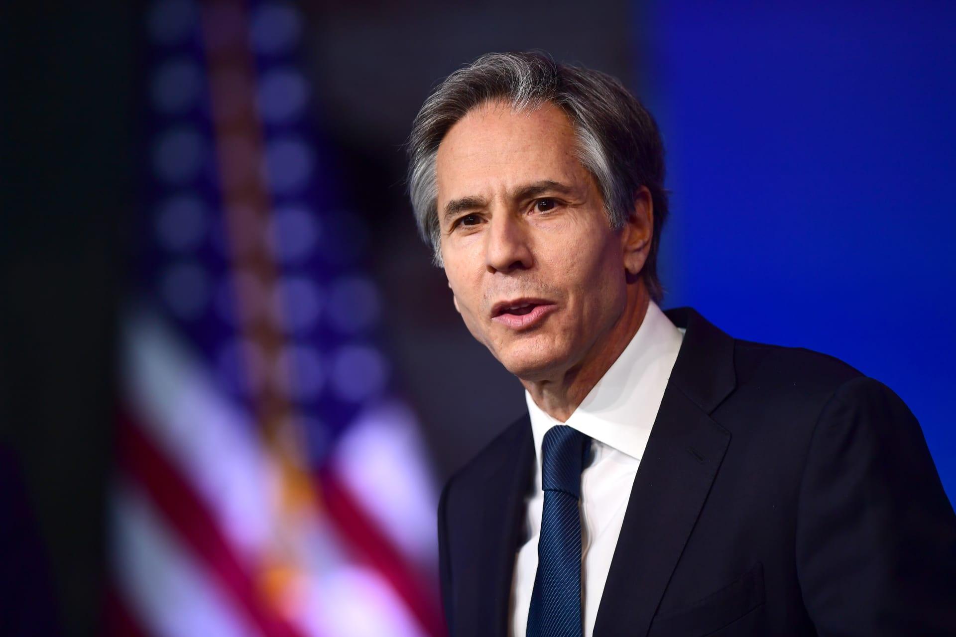 وزير الخارجية الأمريكي انتوني بلينكن