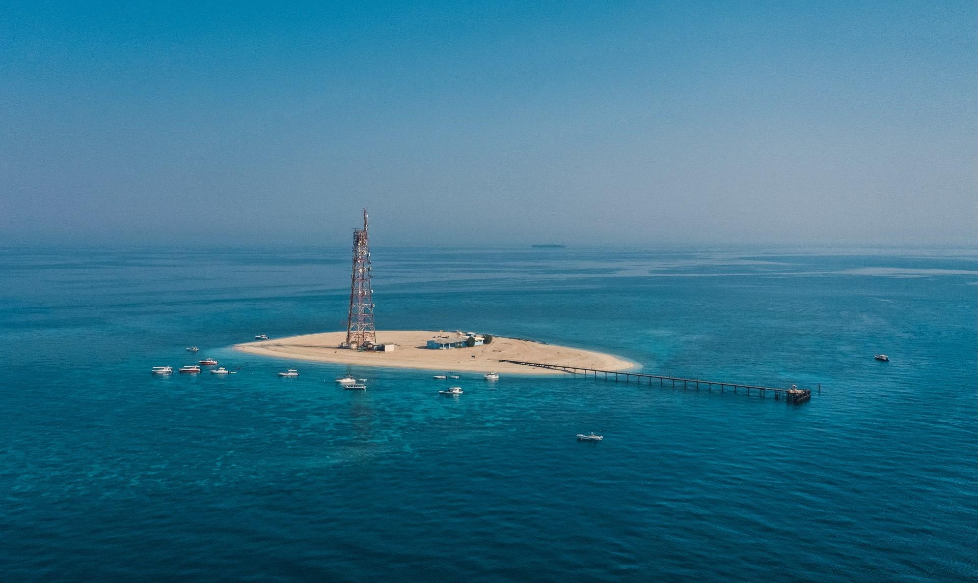جزيرة قاروه في الكويت