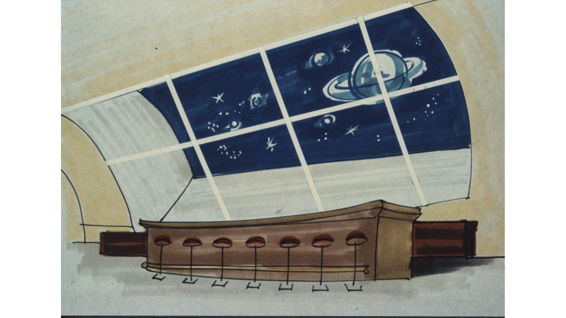 خطة هيلتون الغريبة لعام 1967 لفندق فضاء