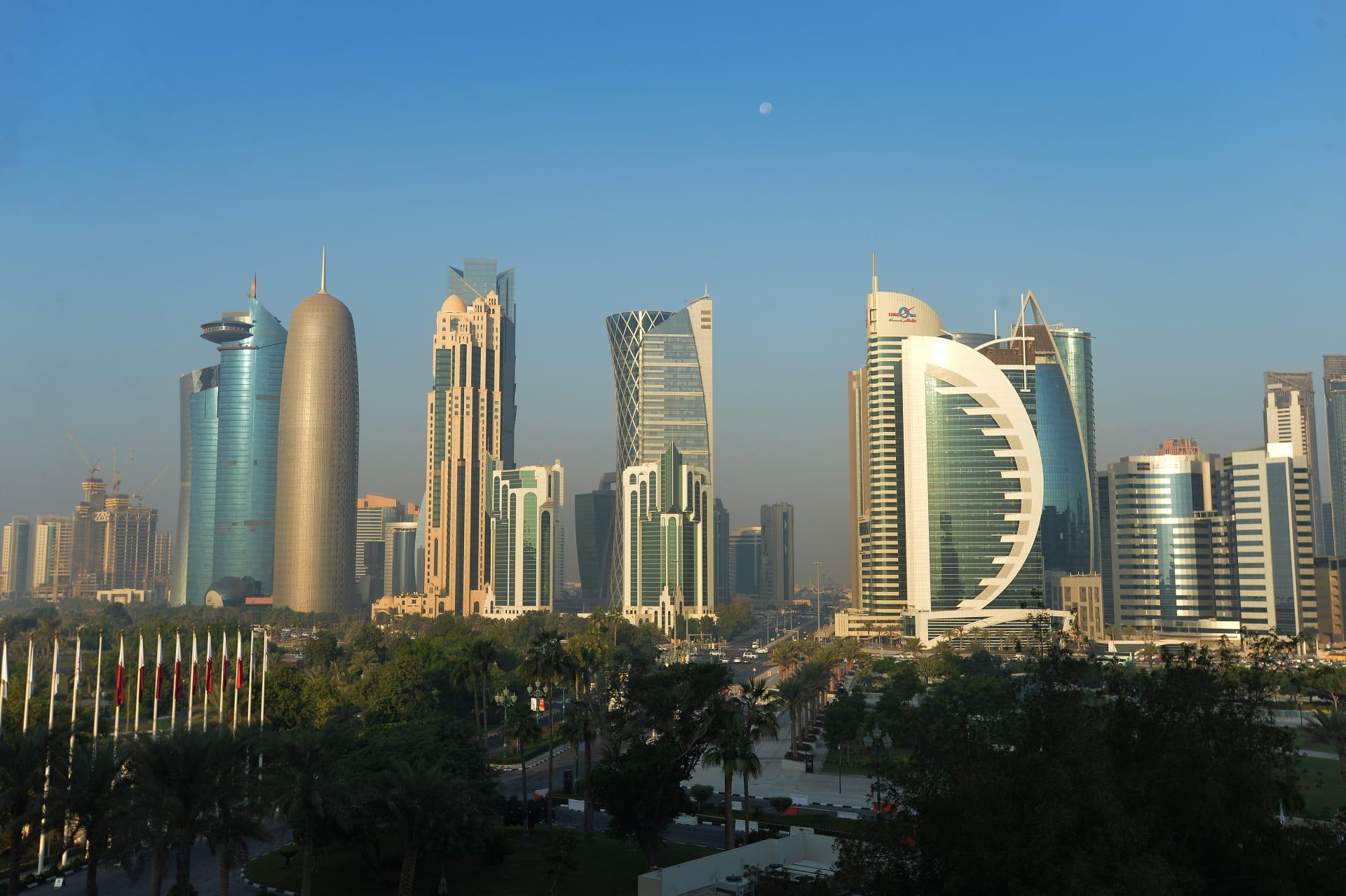 صورة أرشيفية عامة من العاصمة القطرية، الدوحة