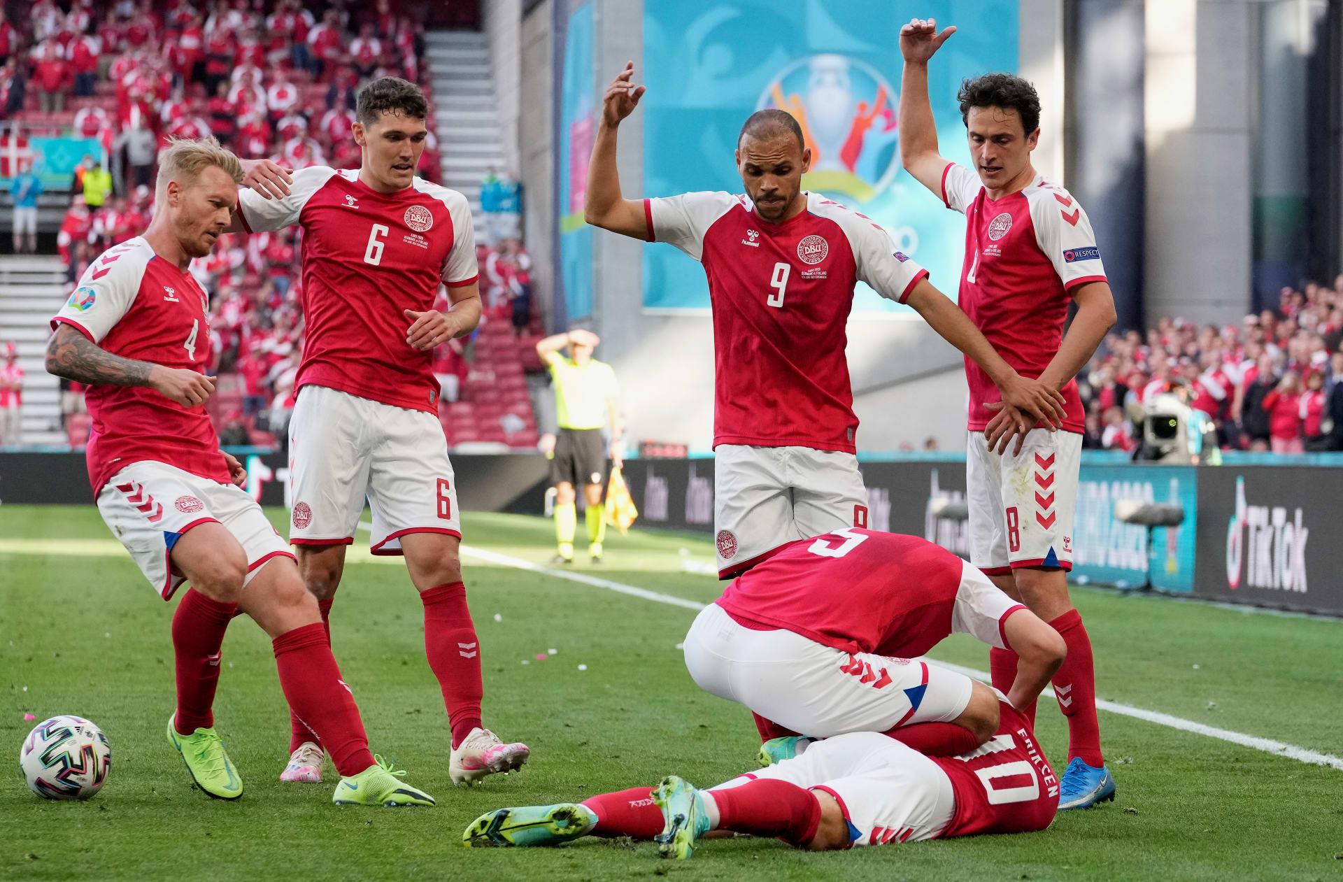 لاعب كرة القدم الدنماركي كريستيان إريكسن
