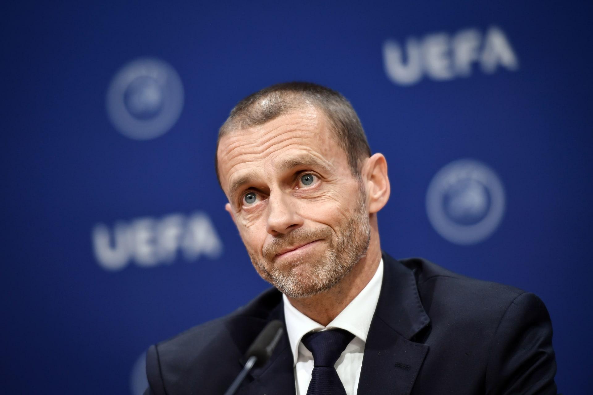 رئيس الاتحاد الأوروبي لكرة القدم، ألكسندر تشيفرين