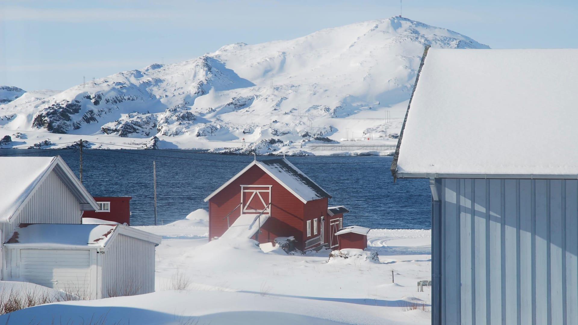 عزلة اختيارية..امراة تقضي فترة إغلاق الجائحة في القطب الشمال