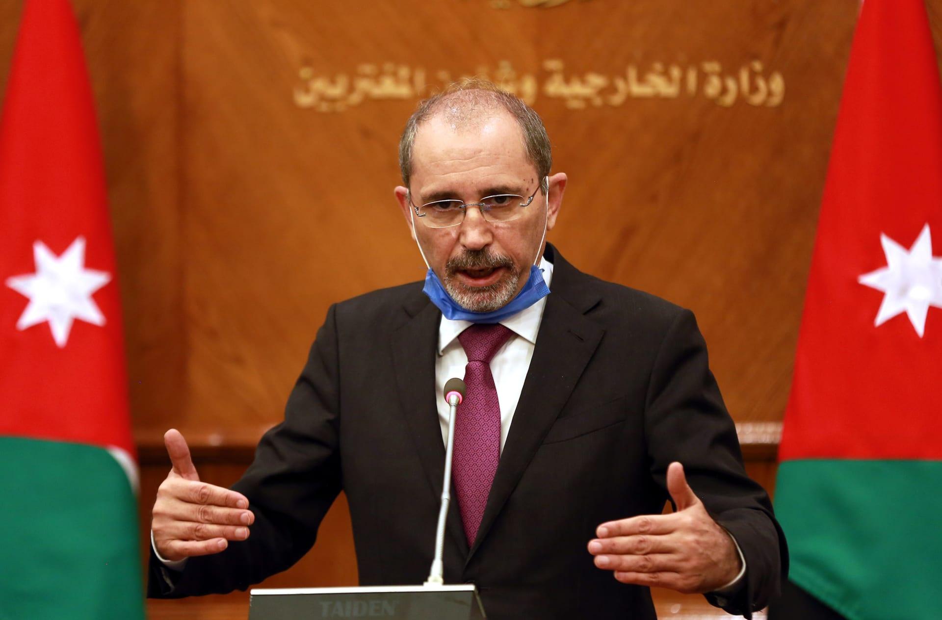 وزير الخارجية الأردنية أيمن الصفدي