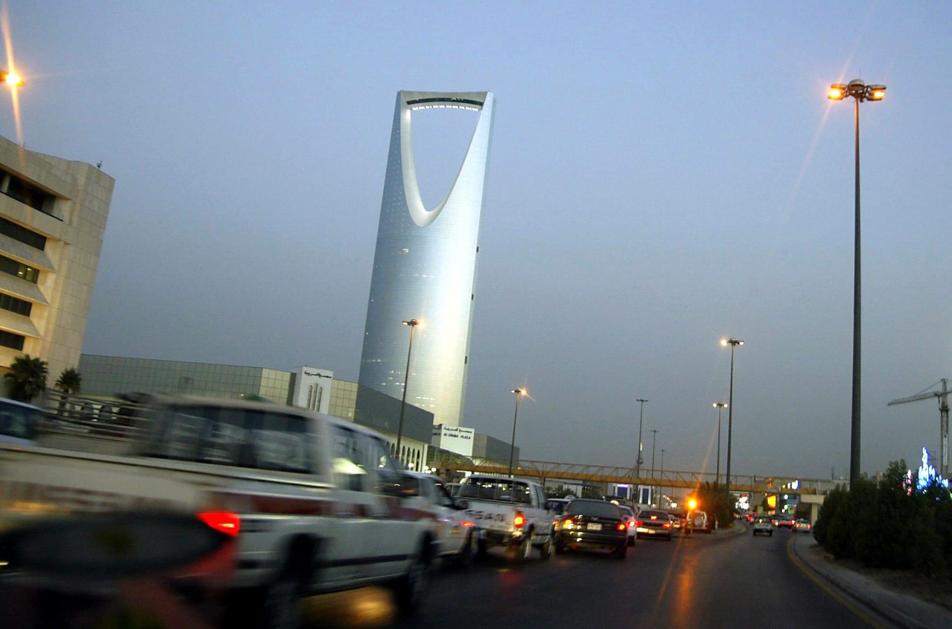 صورة أرشيفية من أحد شوارع العاصمة السعودية، الرياض