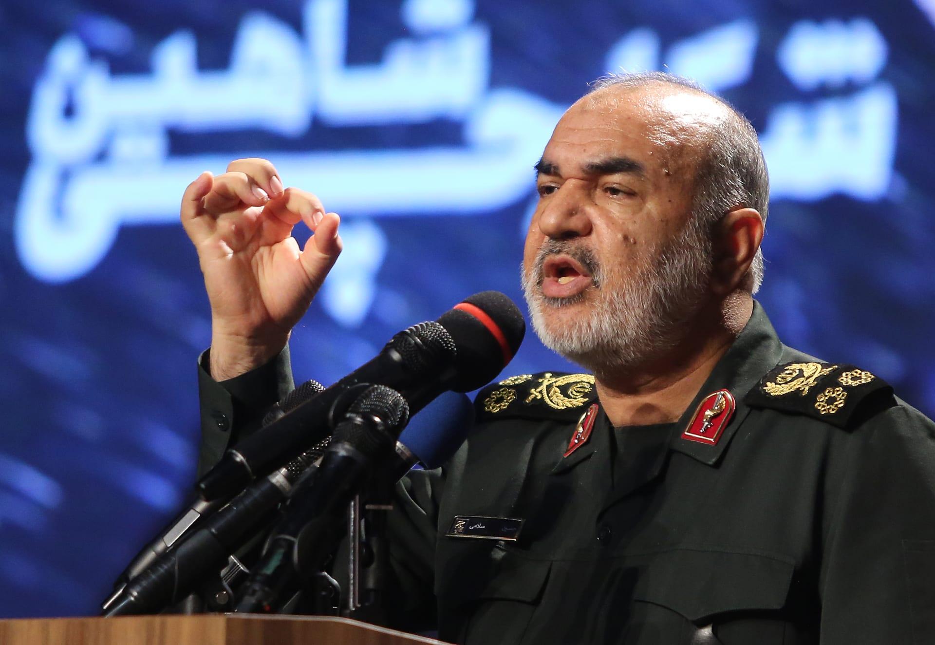 قائد الحرس الثوري الإيراني حسن سلامي