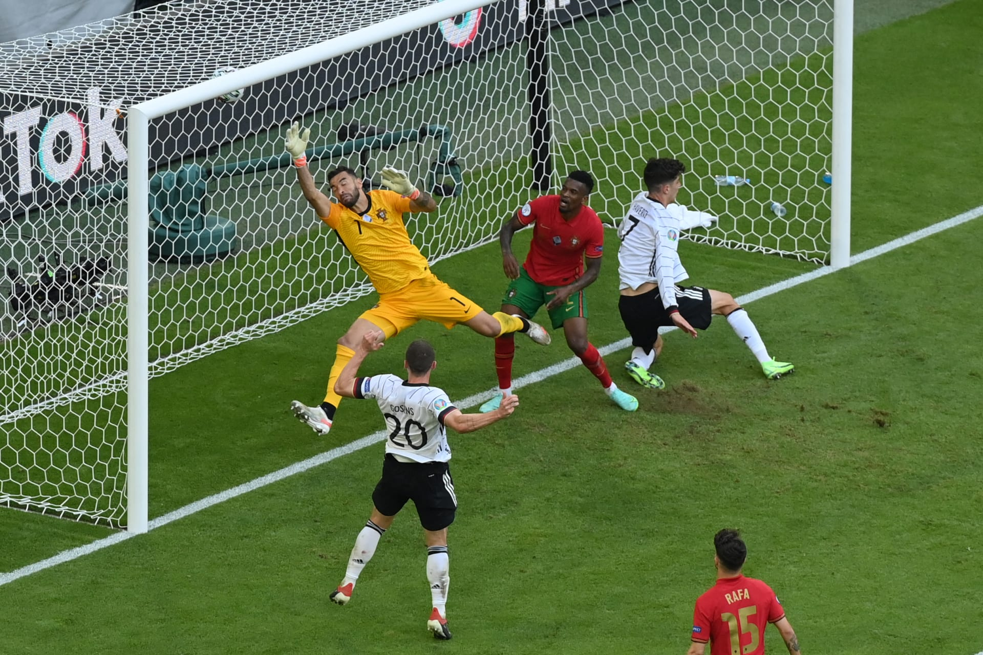 مباراة ألمانيا والبرتغال