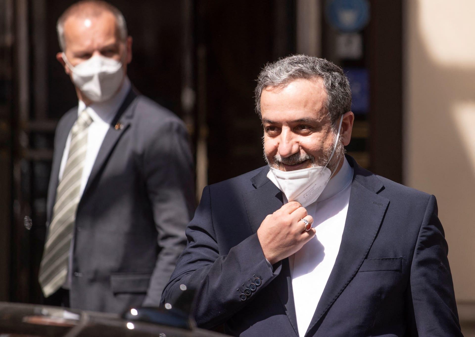 رئيس الوفد الإيراني في مفاوضات فيينا حول إحياء الاتفاق النووي، سيد عباس عراقجي