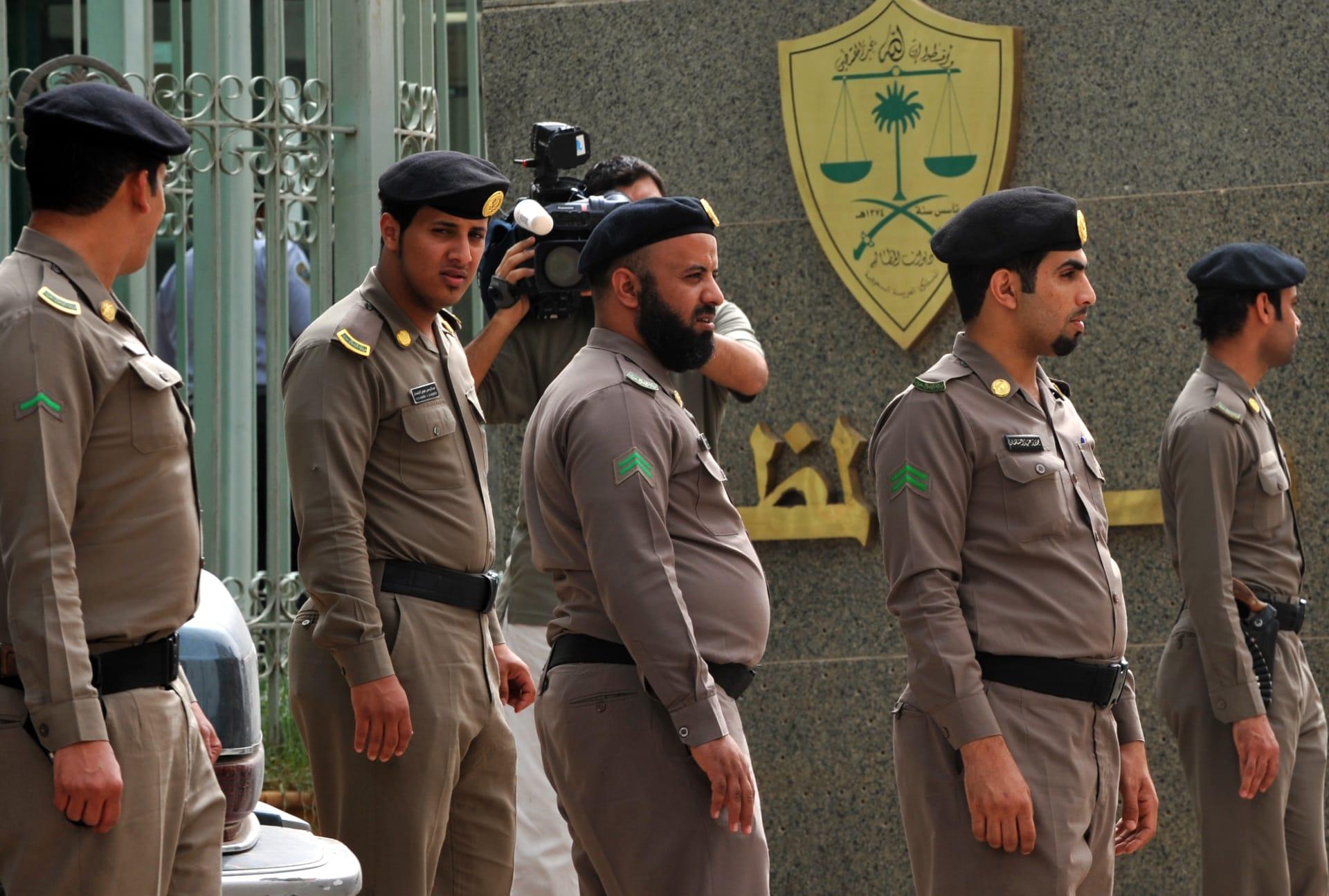 صورة أرشيفية لعناصر بالأمن السعودي