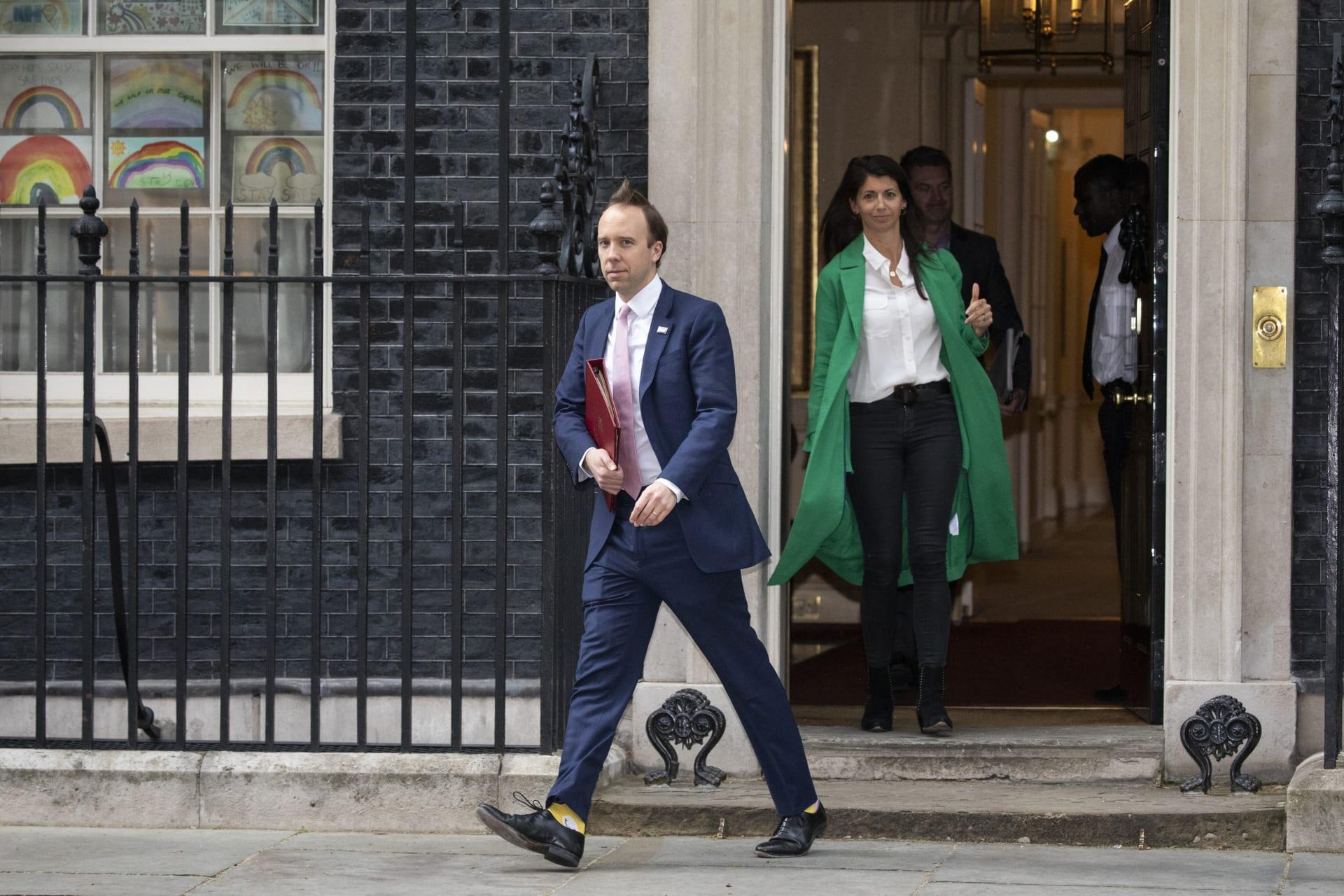 وزير الصحة البريطاني، مات هانكوك