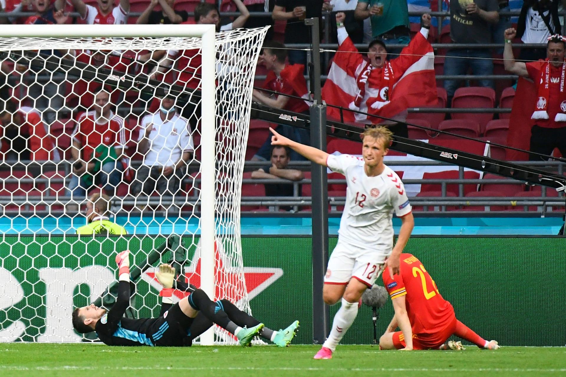 مباراة الدنمارك وويلز