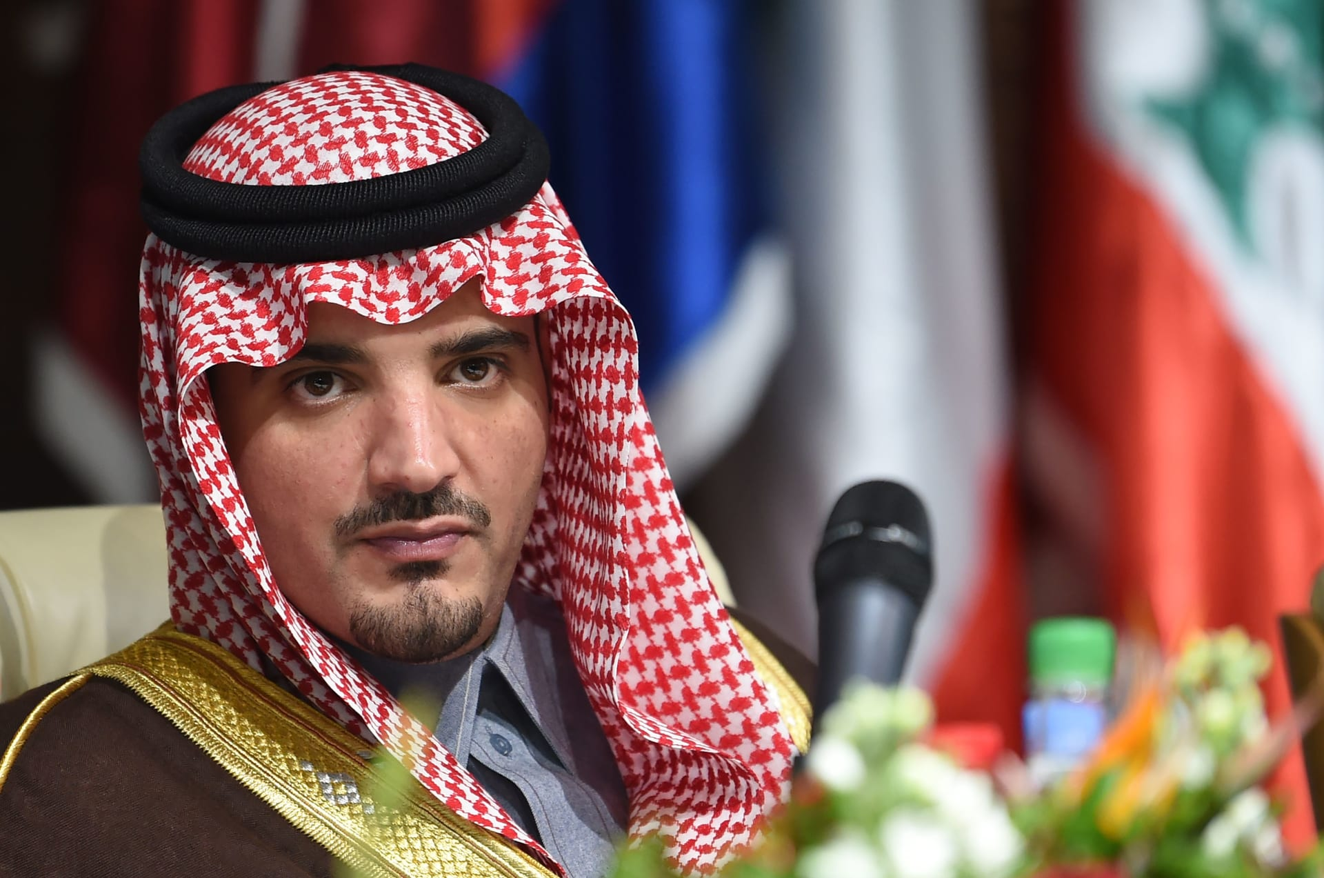 وزير الداخلية السعودي الأمير عبدالعزيز بن سعود بن نايف