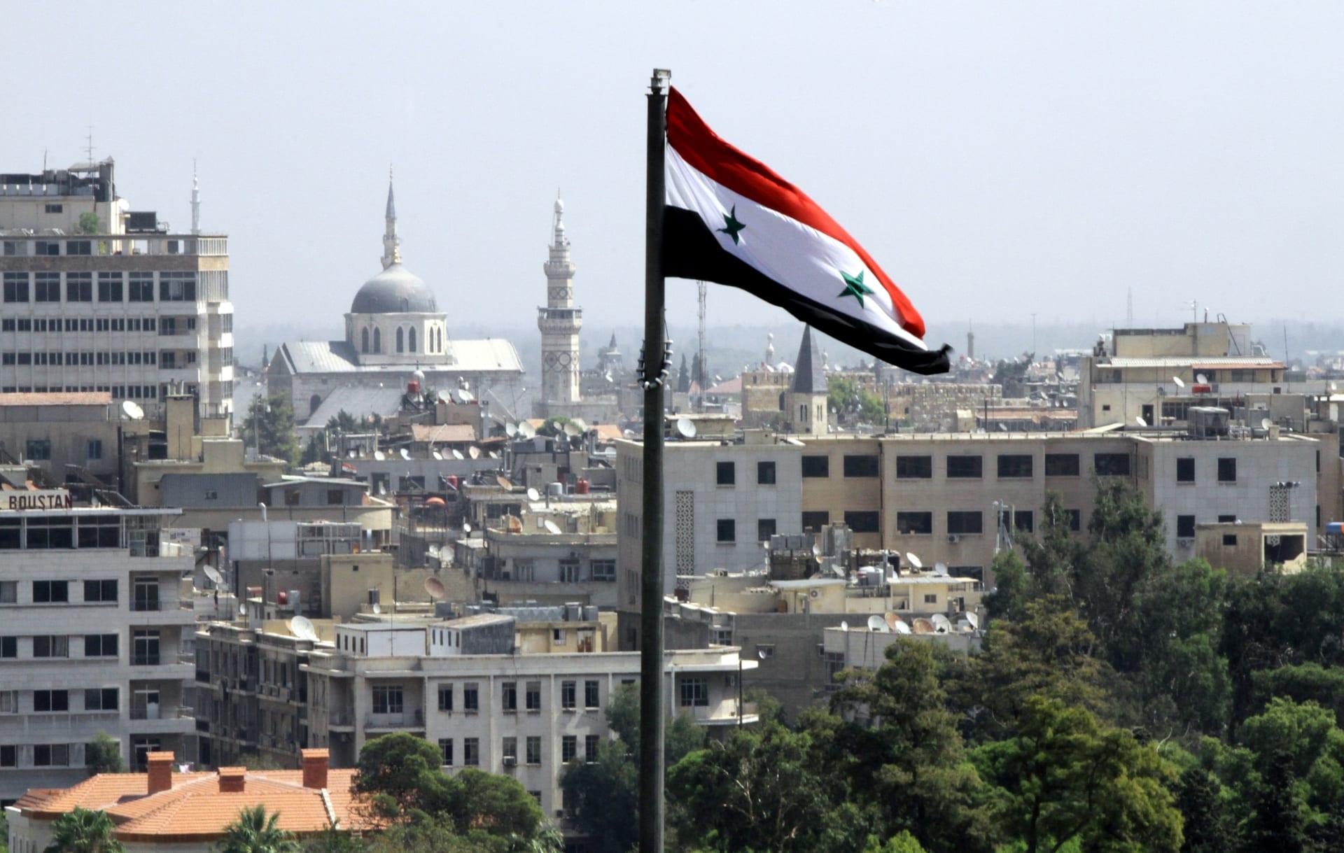 صورة أرشيفية عامة من العاصمة السورية دمشق