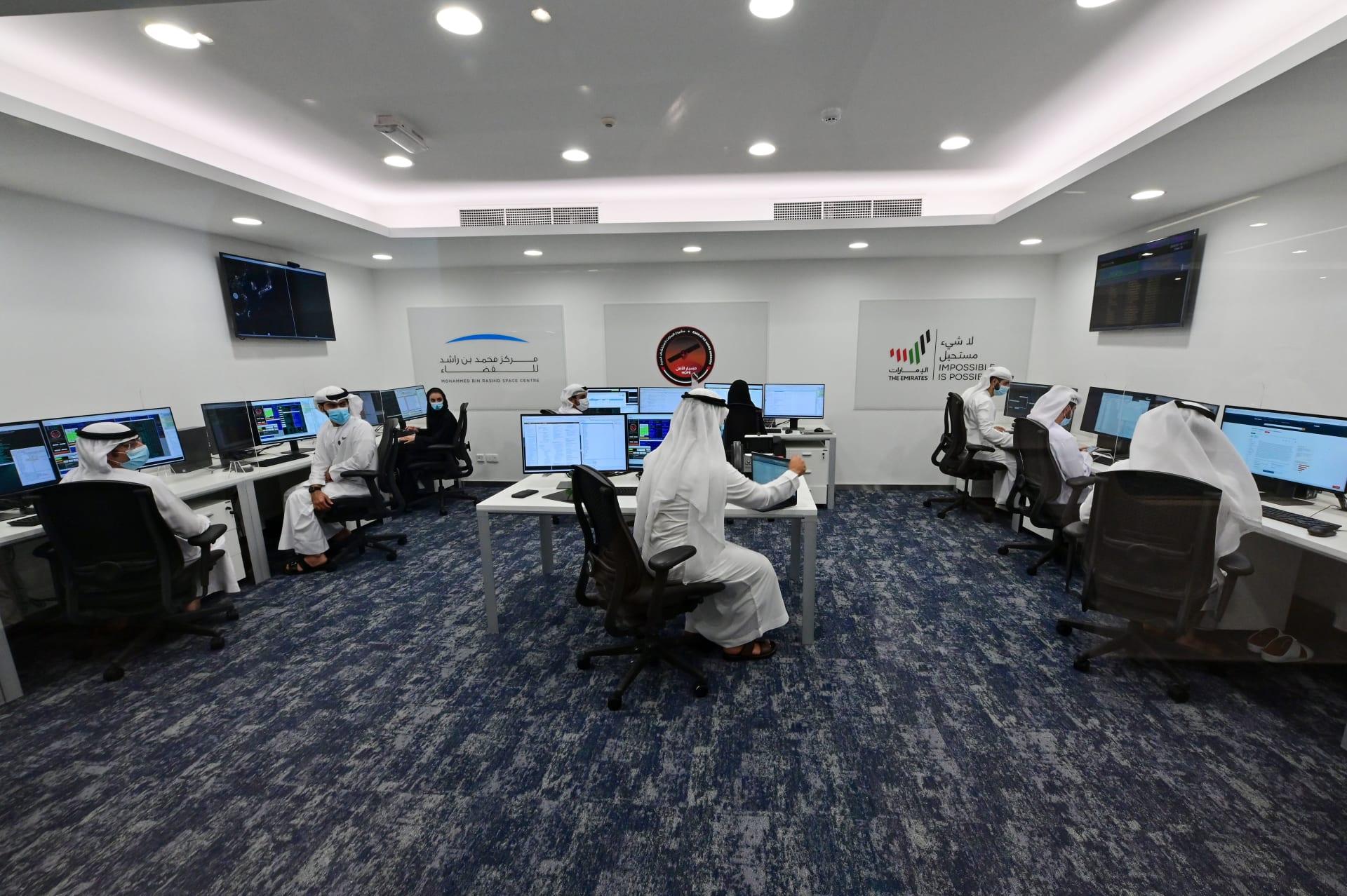 """""""مسبار الأمل"""" الإماراتي يلتقط أول صور من نوعها لظاهرة """"الشفق المريخي"""""""