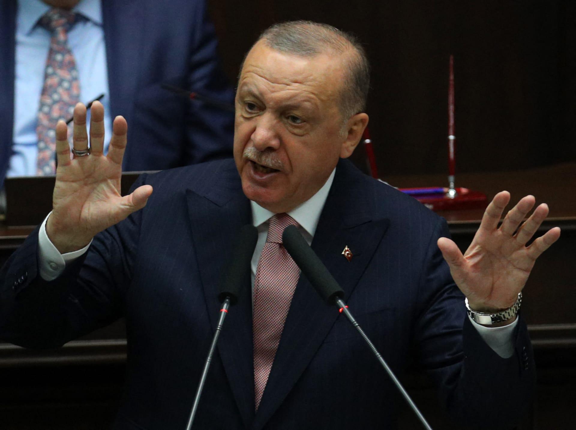 الرئيس التركي رجب طيب أرددوغان