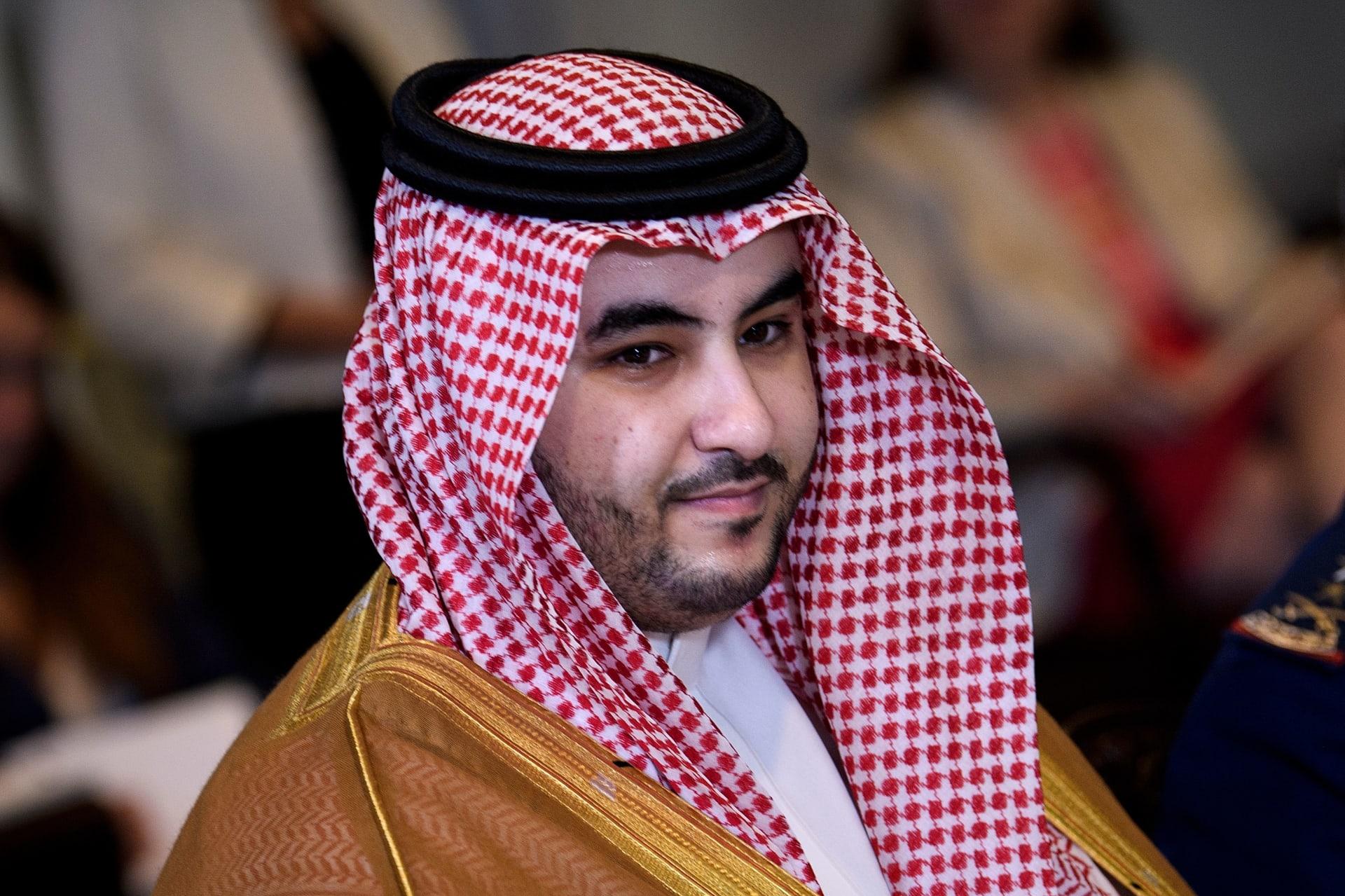 الأمير السعودي خالد بن سلمان