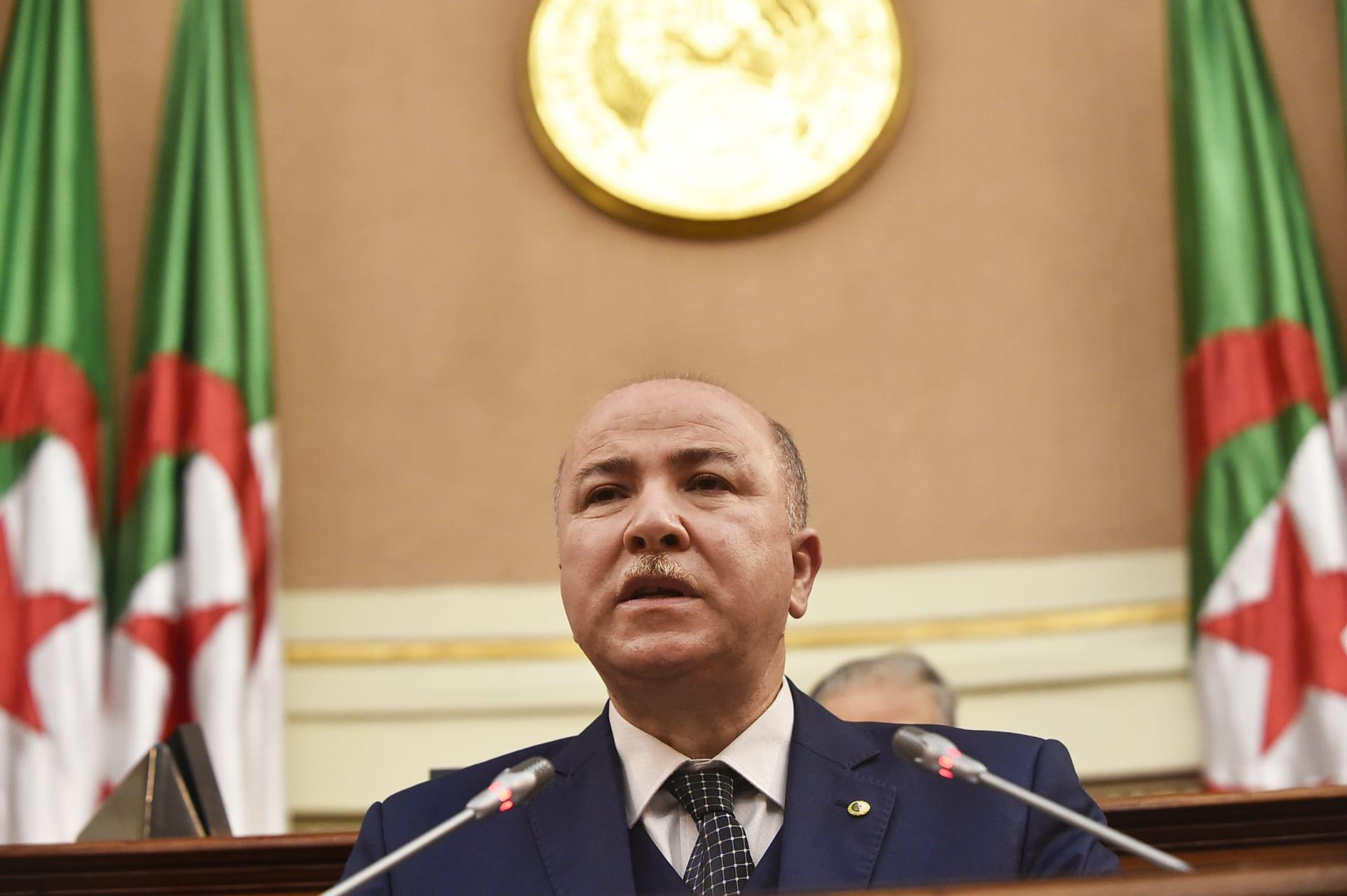 رئيس الحكومة الجزائرية أيمن بن عبدالرحمان
