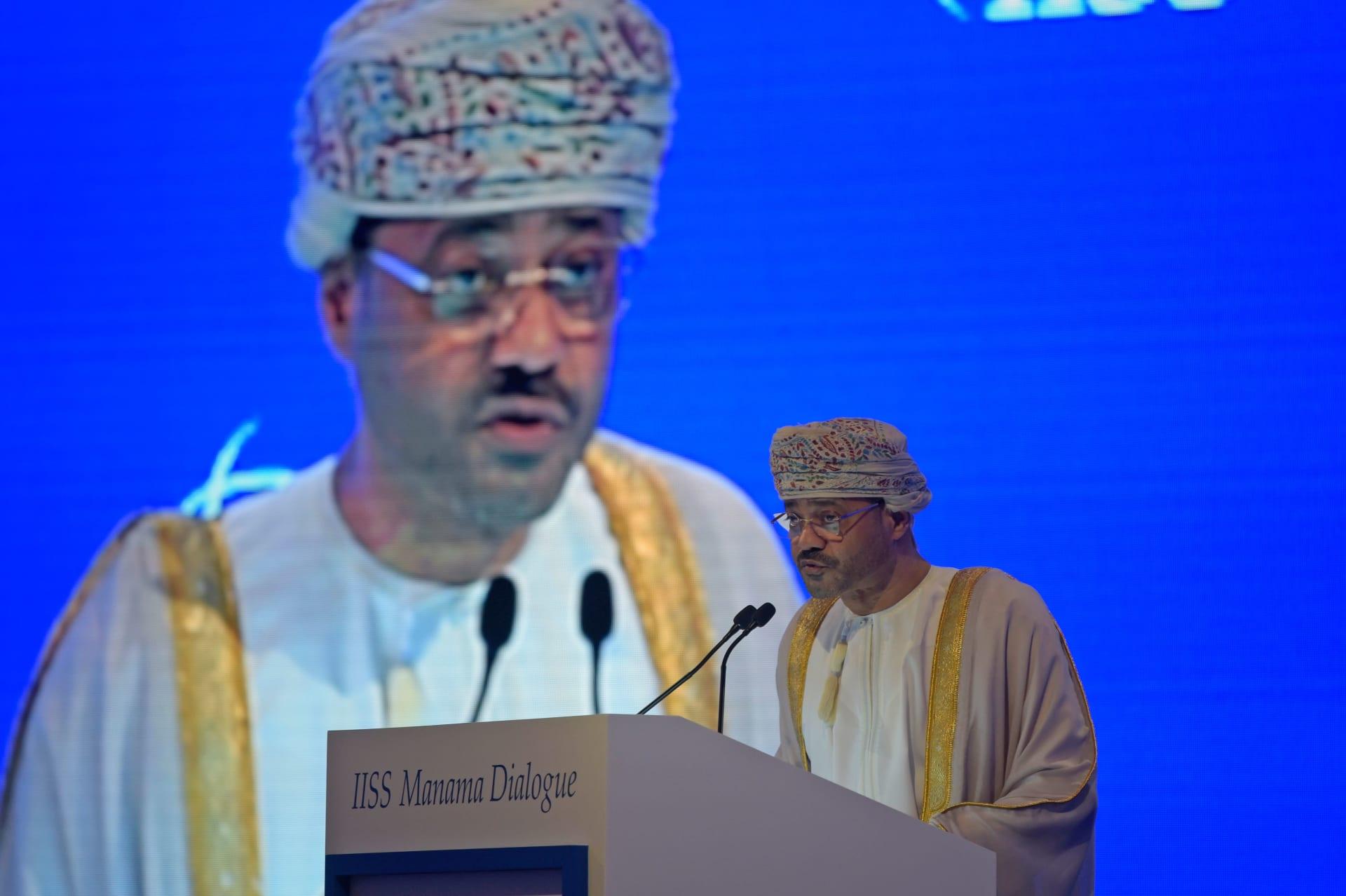 وزير الخارجية العُماني، بدر البوسعيدي