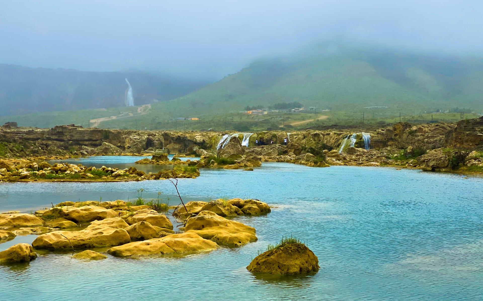 وادي دربات في عمان