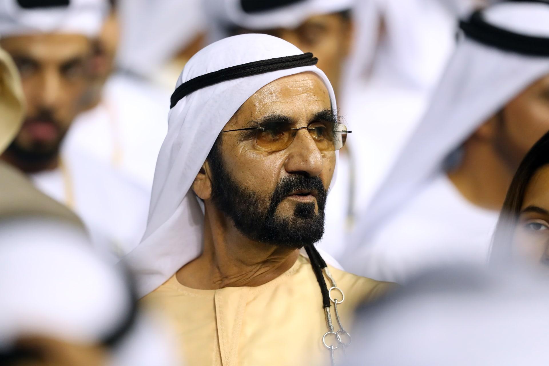 الشيخ محمد بن راشد نائب رئيس دولة الإمارات رئيس مجلس الوزراء حاكم دبي