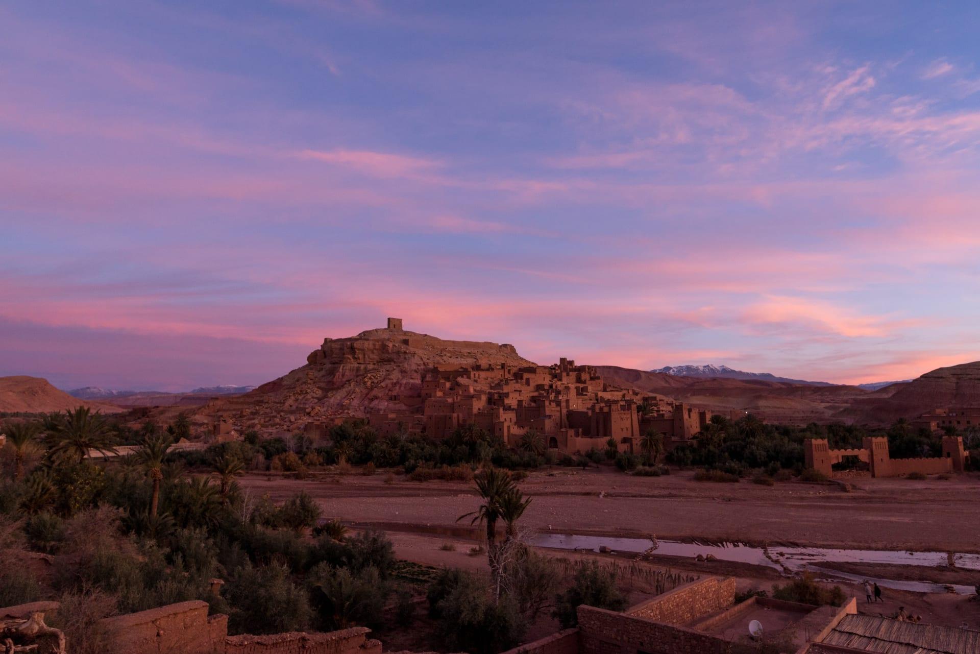 """قصر """"آيت بن حدو"""" في المغرب"""