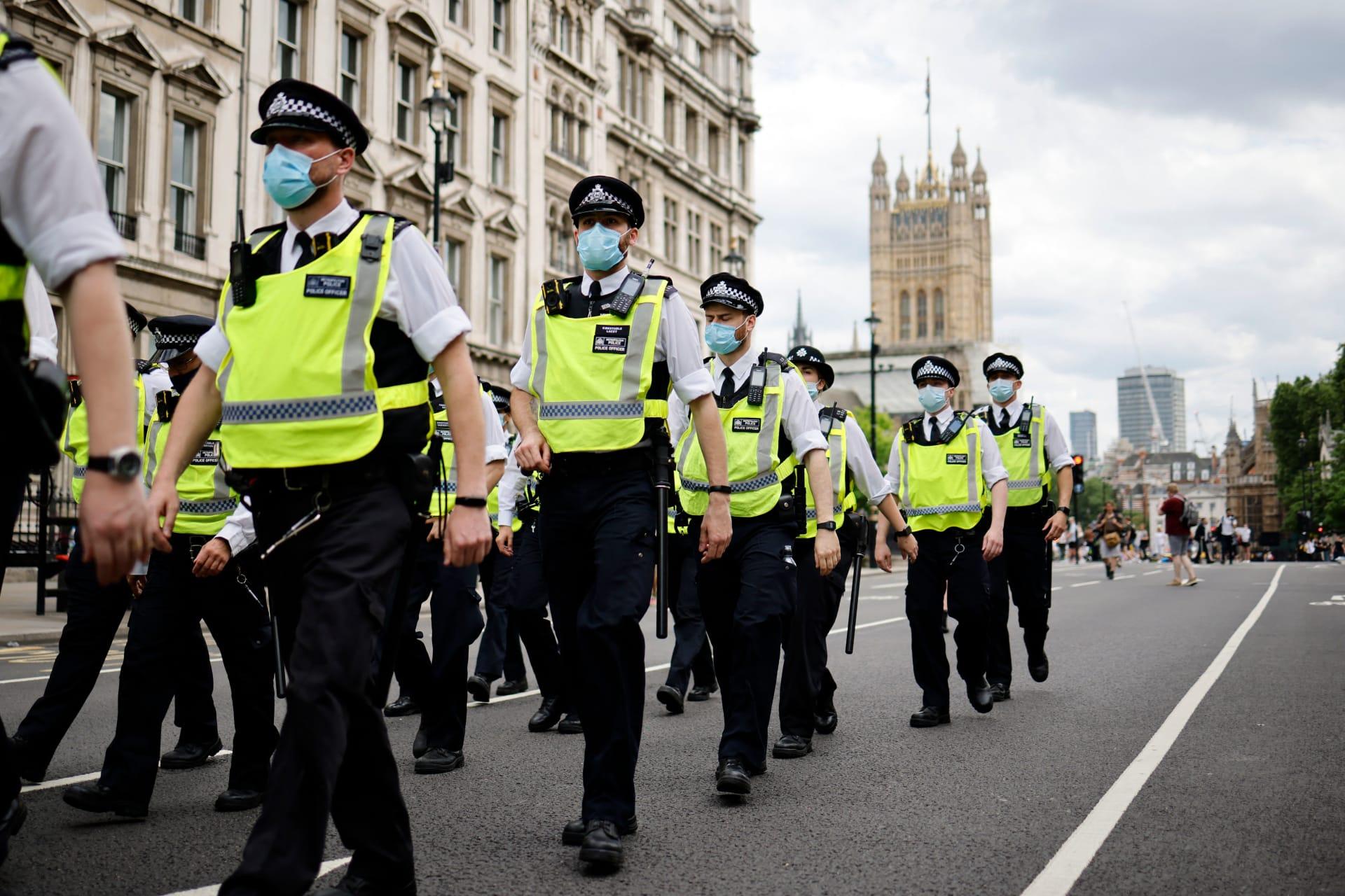 لندن، منظر عام ي 3 يوليو 2021