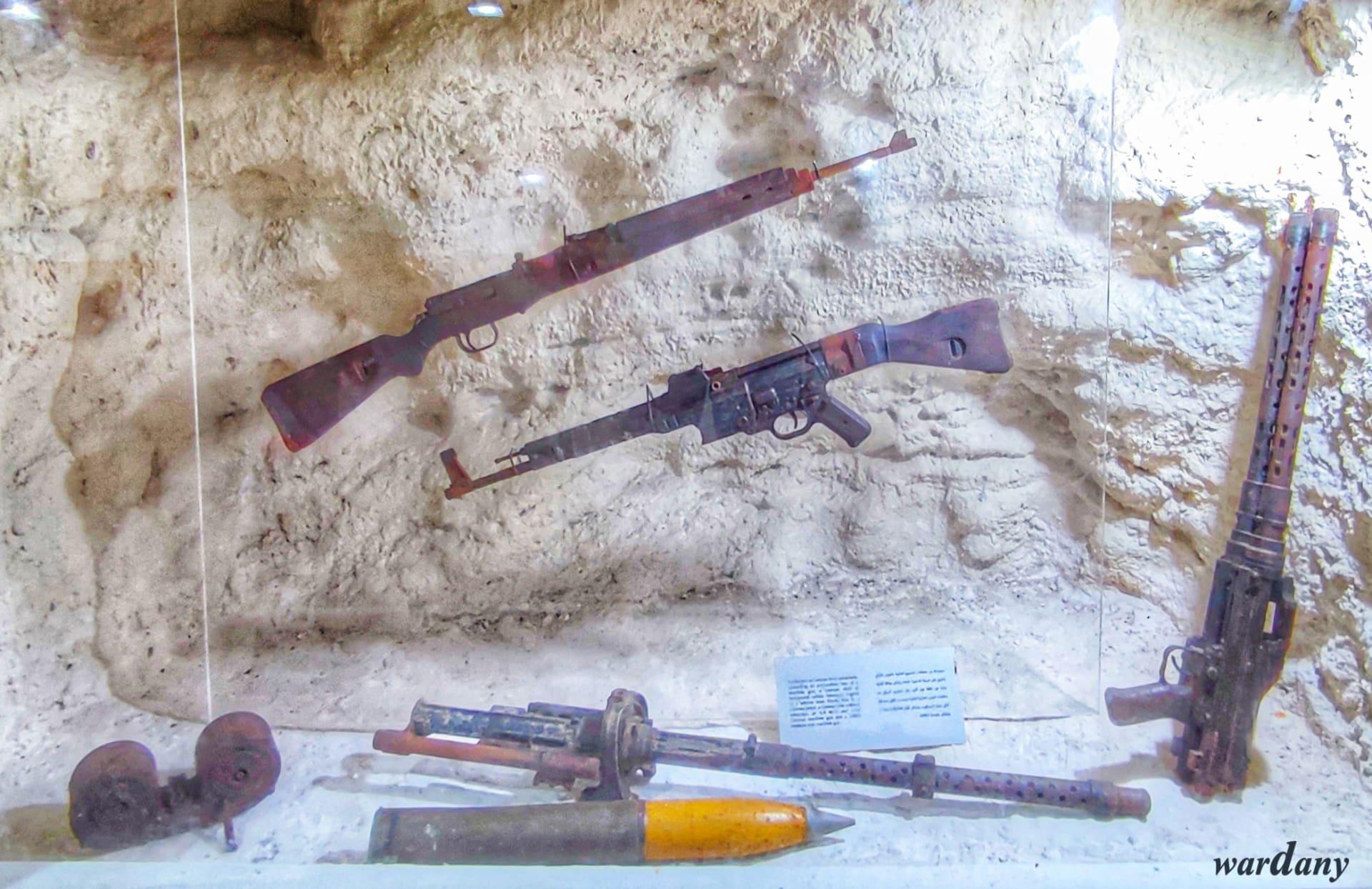 متحف كهف روميل في مصر