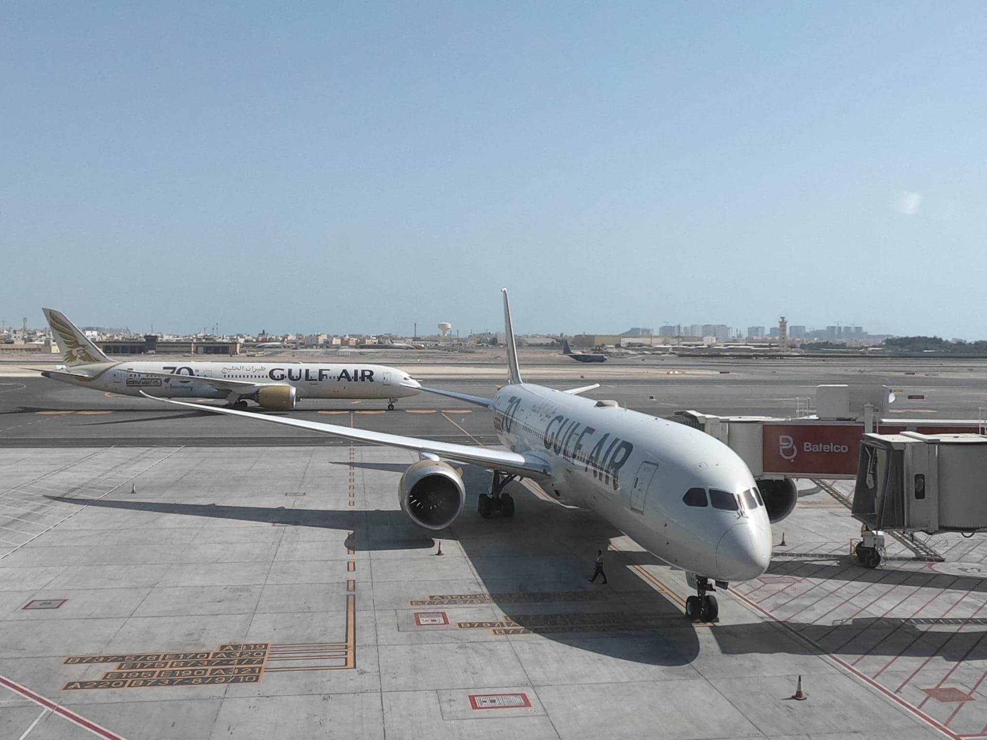 صورة أرشيفية لطائرتين تابعتين لطيران الخليج