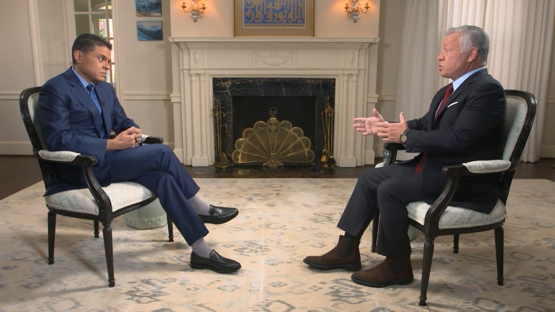 باسم سكجها يكتب: الملك عبدالله في ثلث ساعة مع CNN
