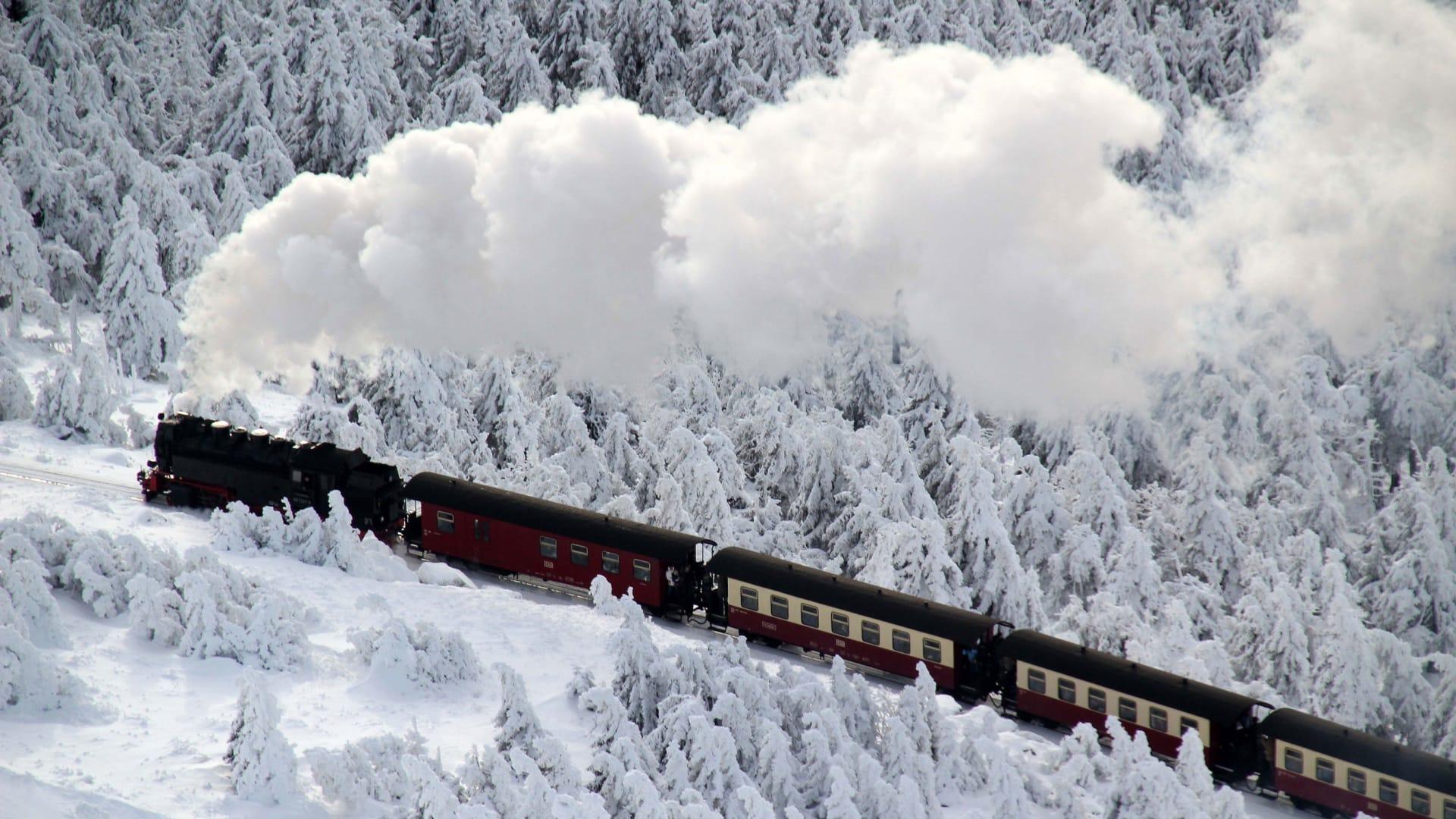 بين الأشباح والجواسيس..إليكم تاريخ سكك الحديد البخارية التي لا تزال قيد التشغيل بألمانيا
