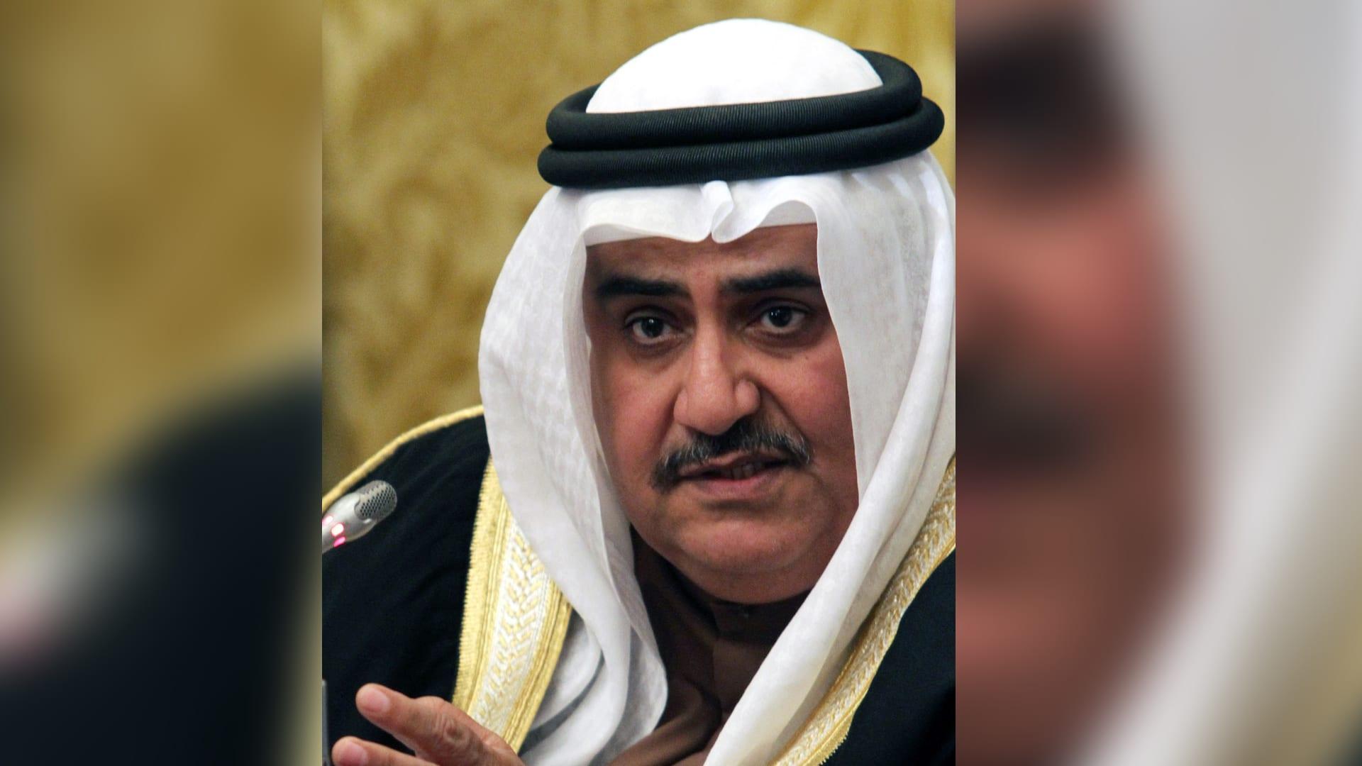 مستشار ملك البحرين، خالد بن أحمد آل خليفة
