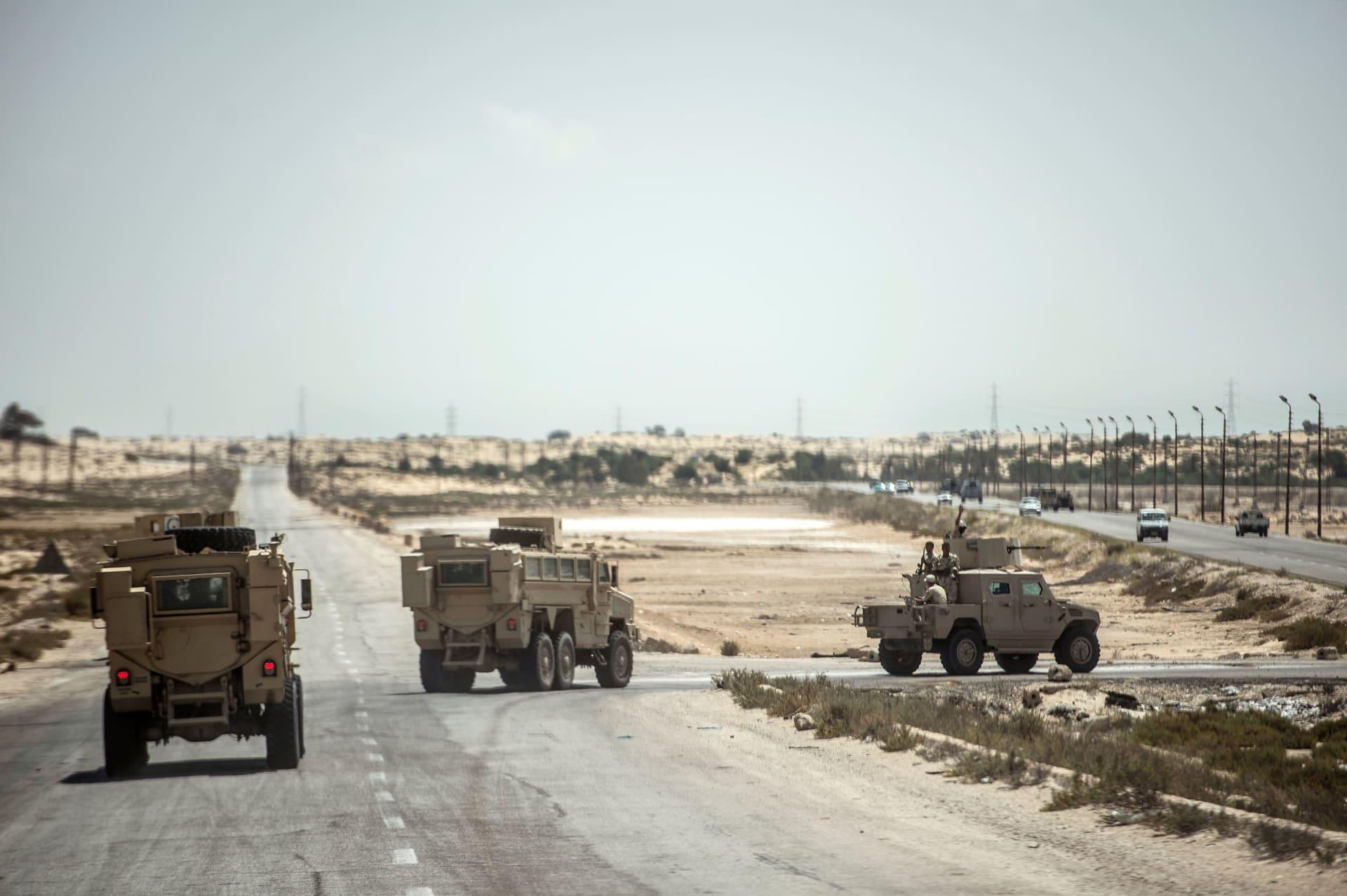 """الجيش المصري: مقتل 89 """"تكفيريًا"""" شديد الخطورة في عمليات بشمال سيناءالجيش المصري: مقتل 89 """"تكفيريًا"""" شديد الخطورة في عمليات بشمال سيناء"""