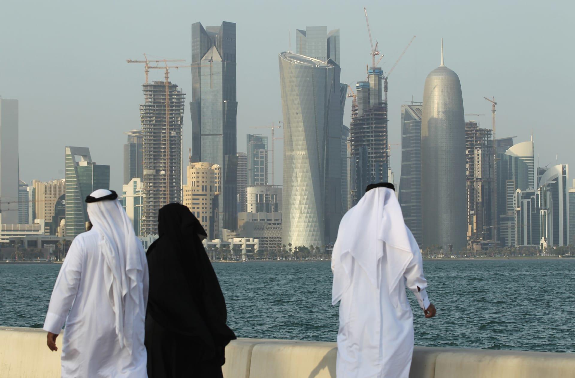 صورة أرشيفية من العاصمة القطرية، الدوحة