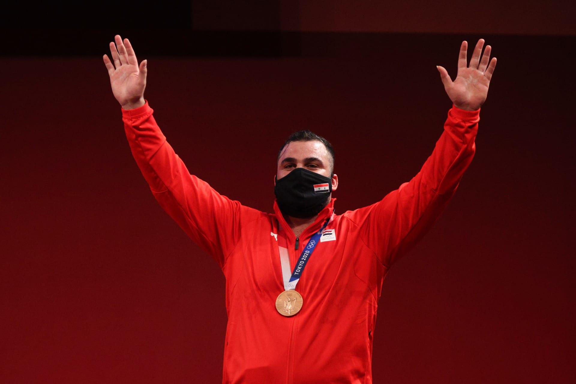 رغم التحديات والإصابة.. معن أسعد يهدي سوريا أول ميدالية أولمبية منذ 16 عاما