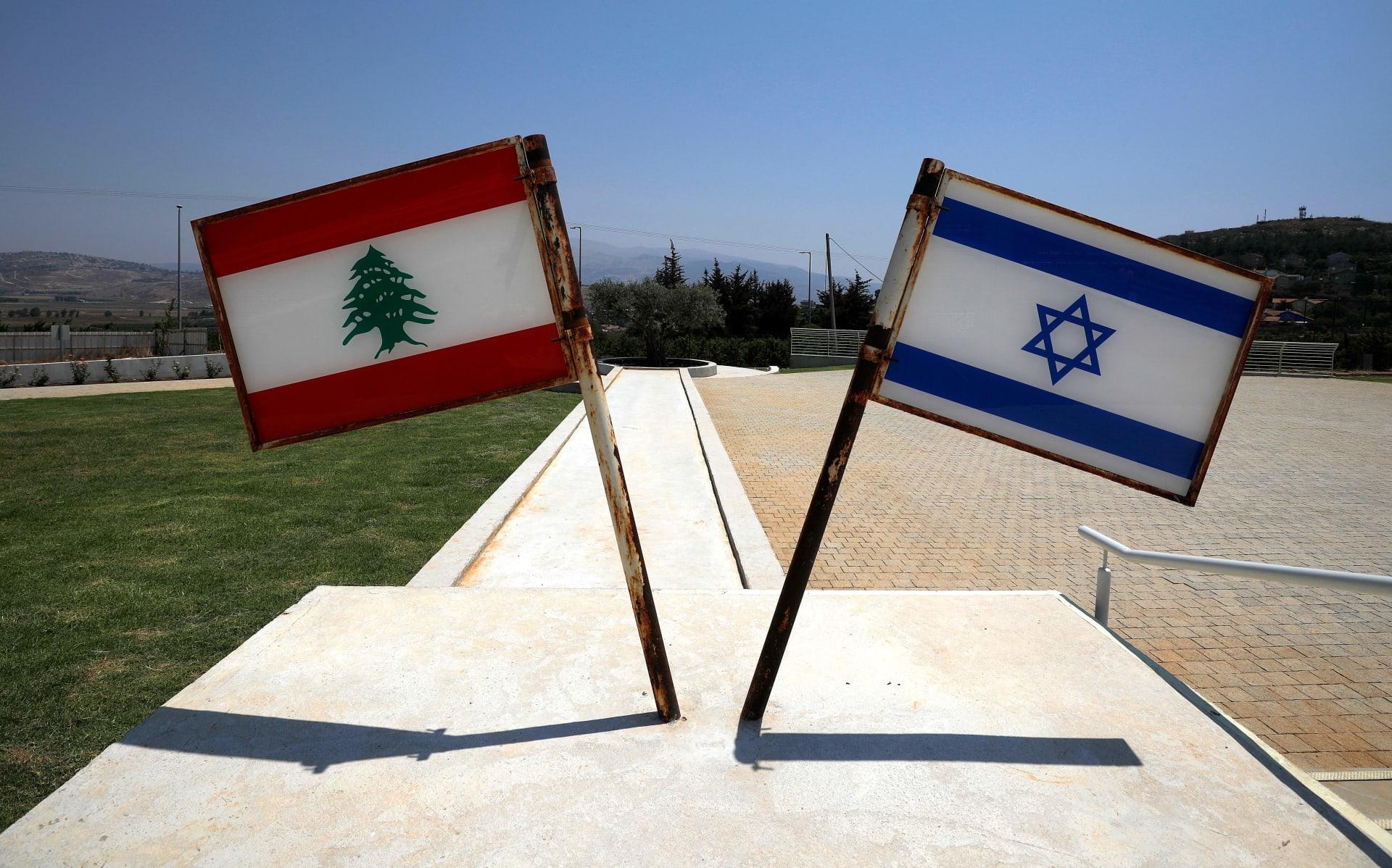 صورة من بلدة شمال إسرائيل بالقرب من الحدود مع لبنان