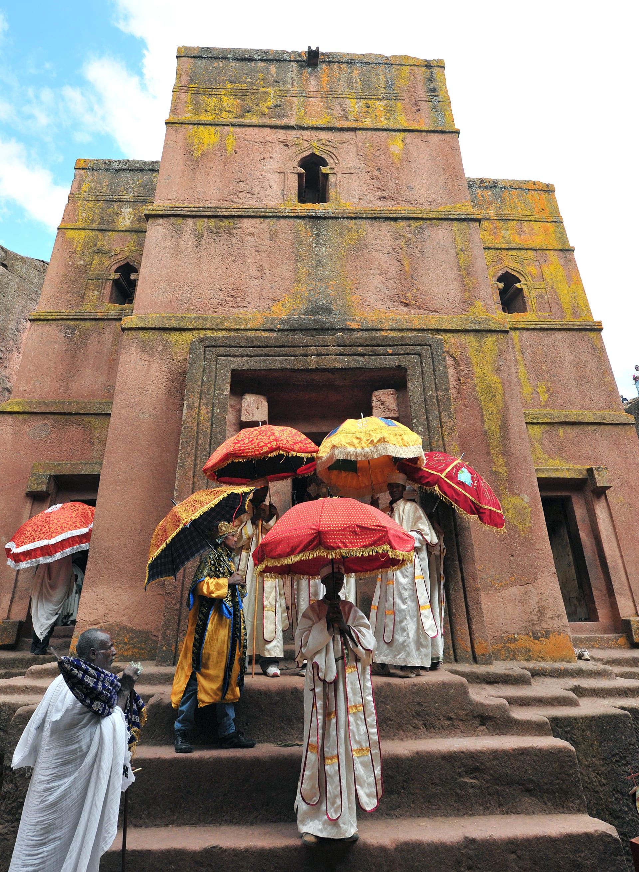 كنائس لاليبيلا في إثيوبيا