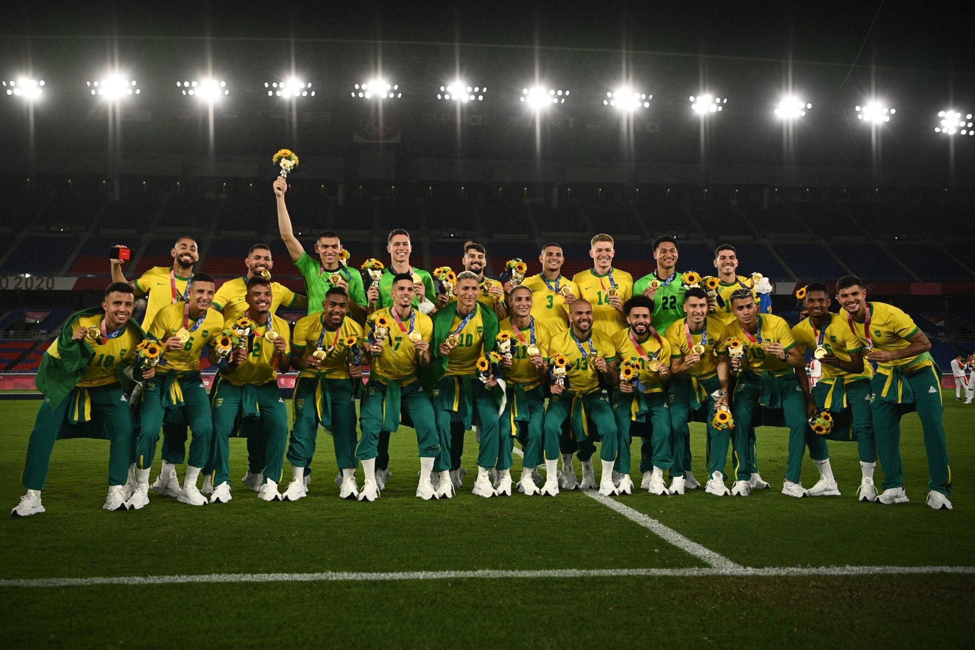 البرازيل تفوز على إسبانيا.. وتنتزع ذهبية كرة القدم في أولمبياد طوكيو