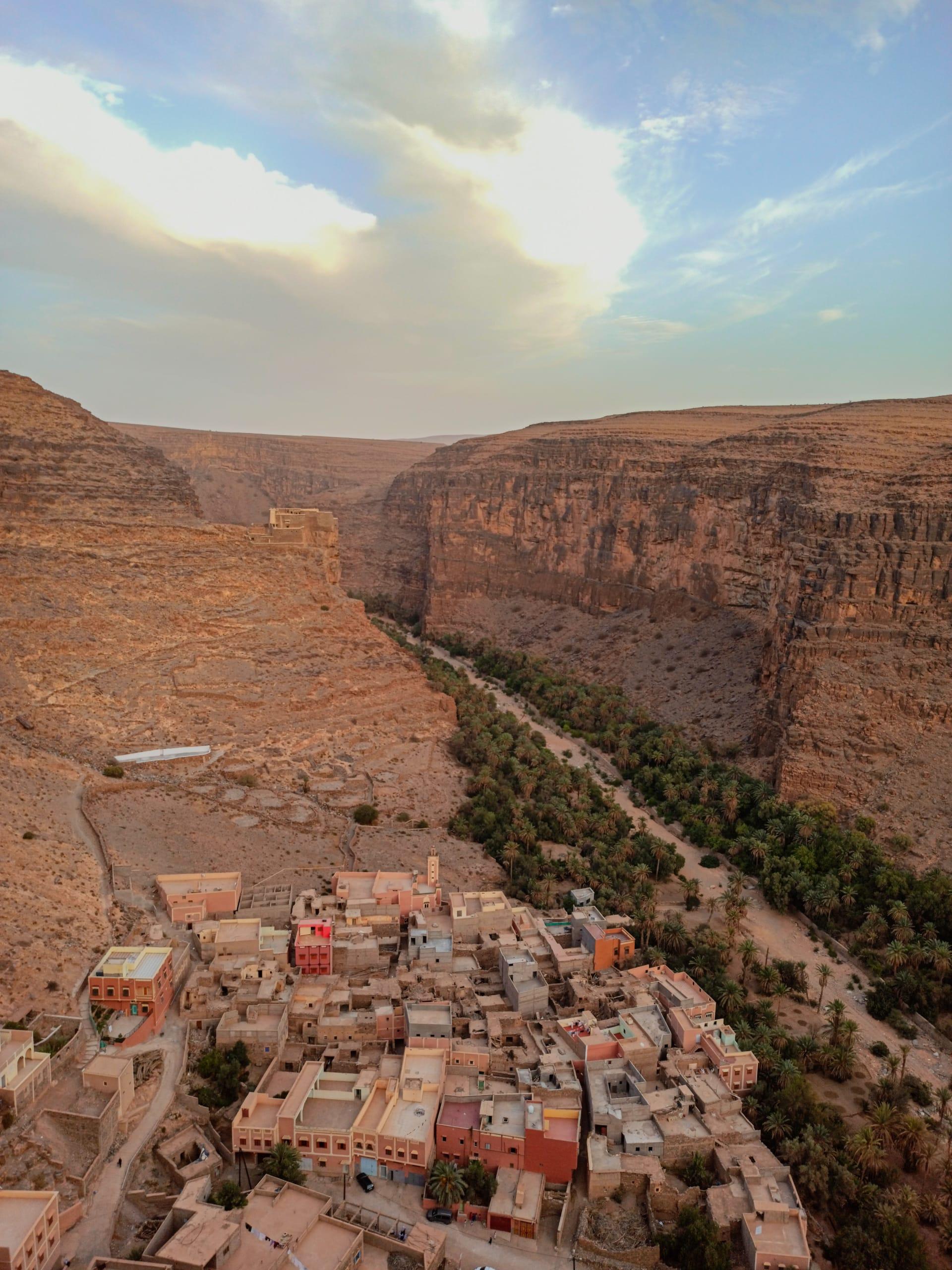 قرية أمتضي في المغرب