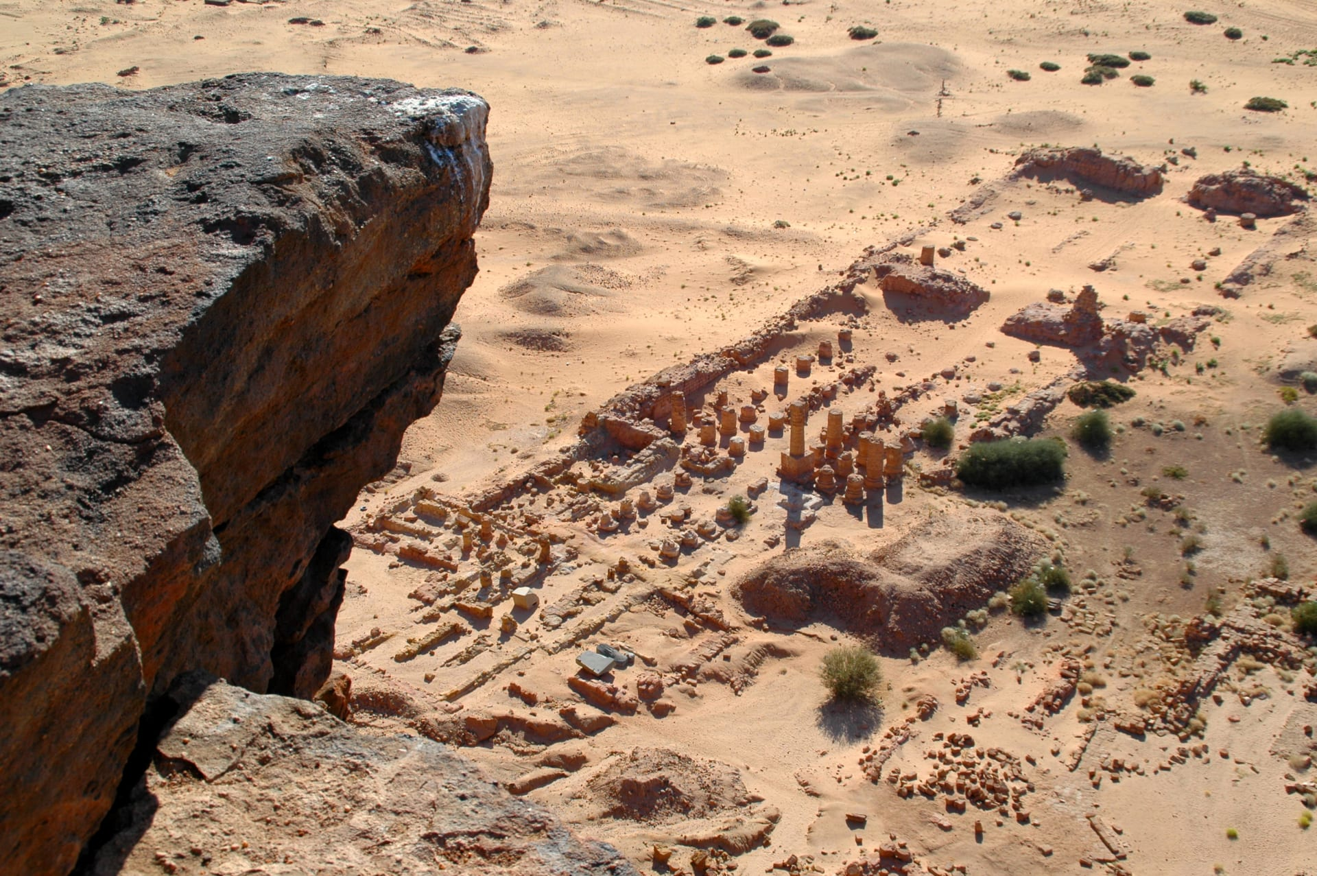 """آمن المصريون القدماء بأن الإله آمون سكن فيه.. تعرف على """"الجبل الطاهر"""" في السودان"""