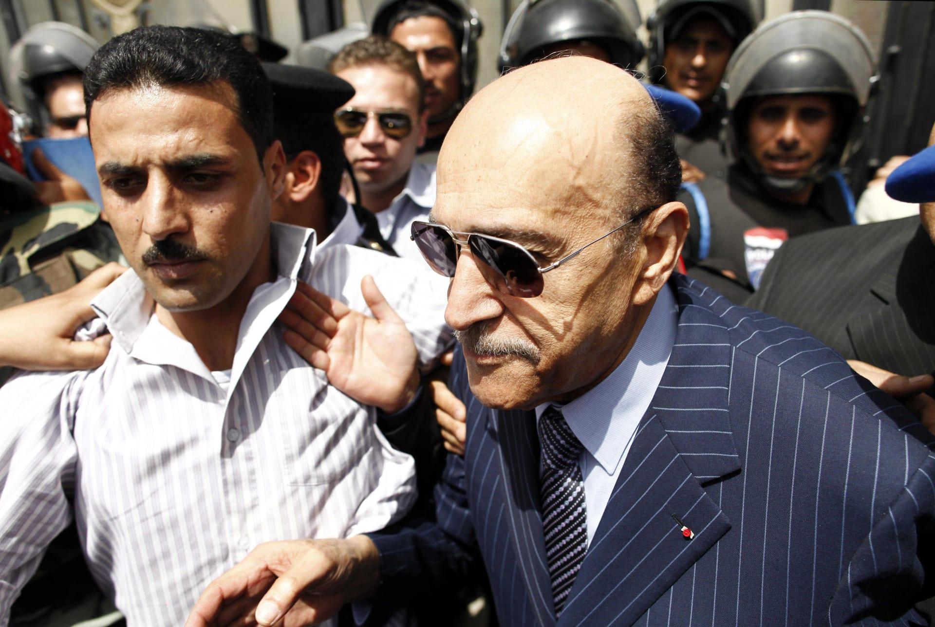 رئيس المخابرات المصرية السابق اللواء عمر سليمان