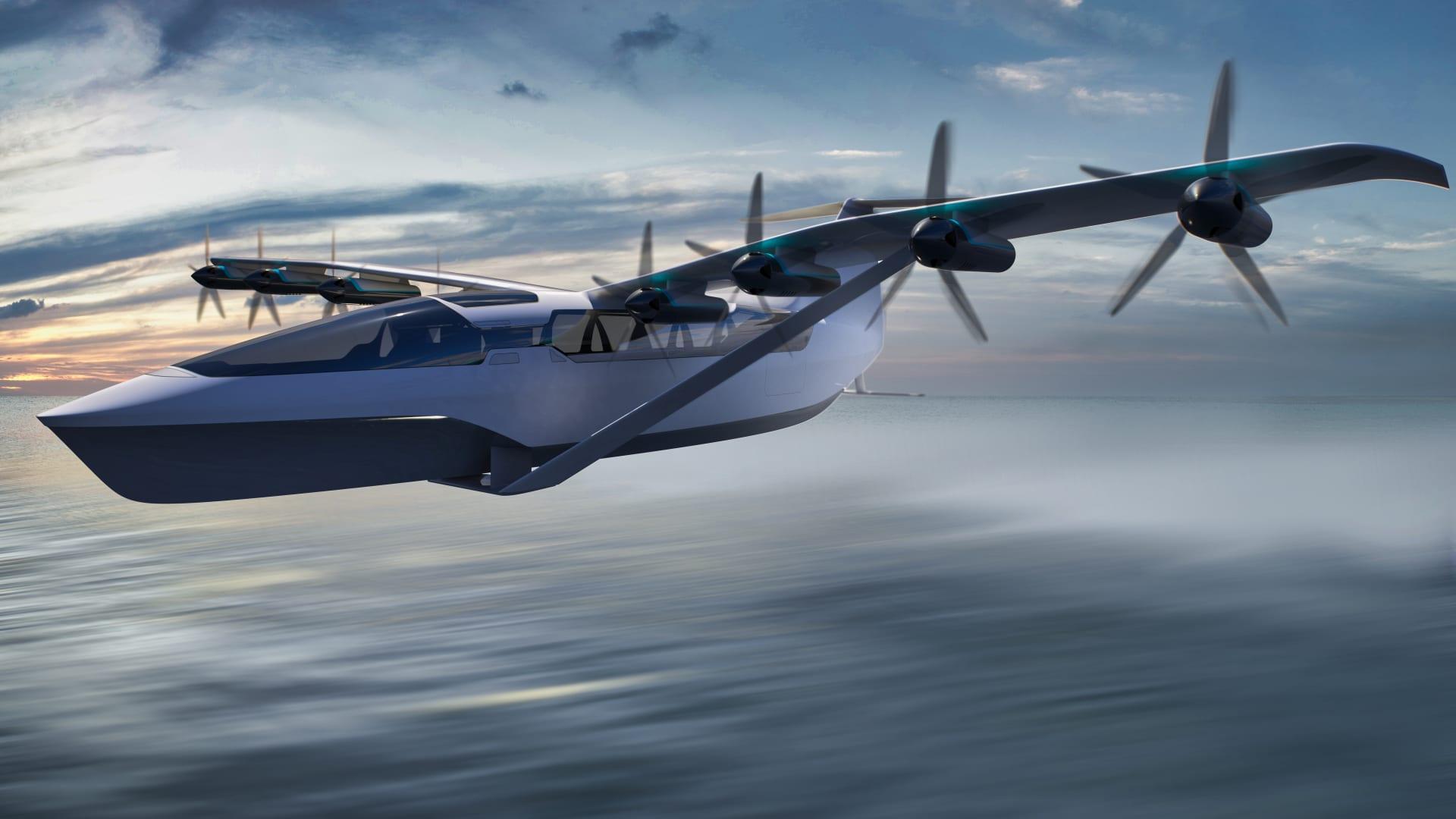 تجمع بين مزايا الطائرات والقوارب.. كيف ستغير هذه المركبة الكهربائية النقل في المدن الساحلية؟